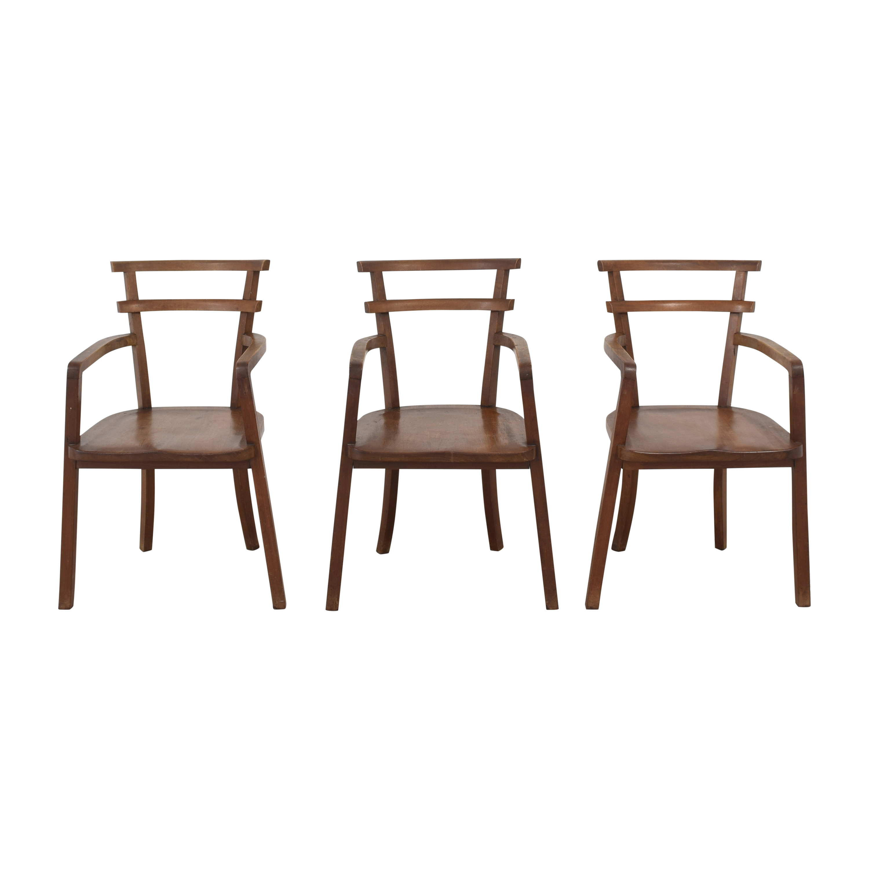 shop  Vintage Wooden Dining Chairs online