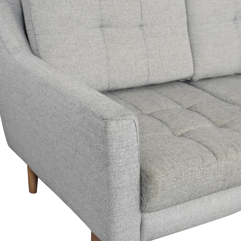 Burrow Burrow Slope Nomad Sofa Sectional ct