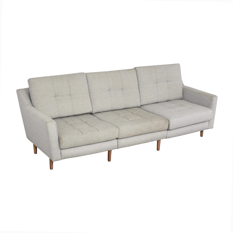 Burrow Burrow Slope Nomad Sofa Sectional price