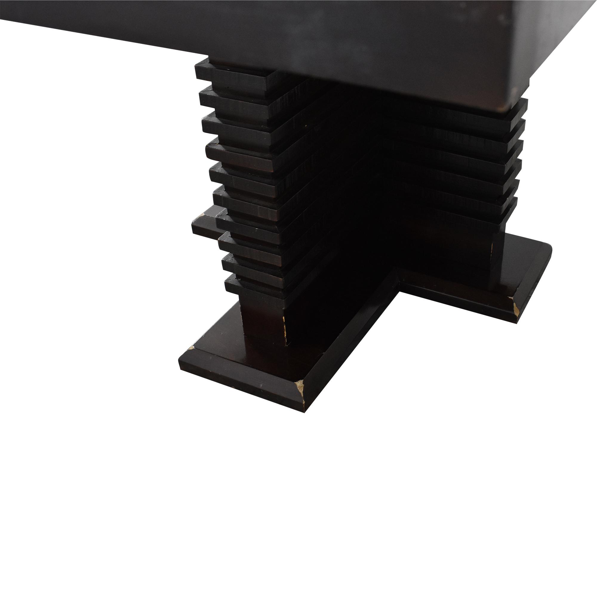 Legacy Classic Furniture Legacy Classic Furniture Rectangular Pedestal Table for sale