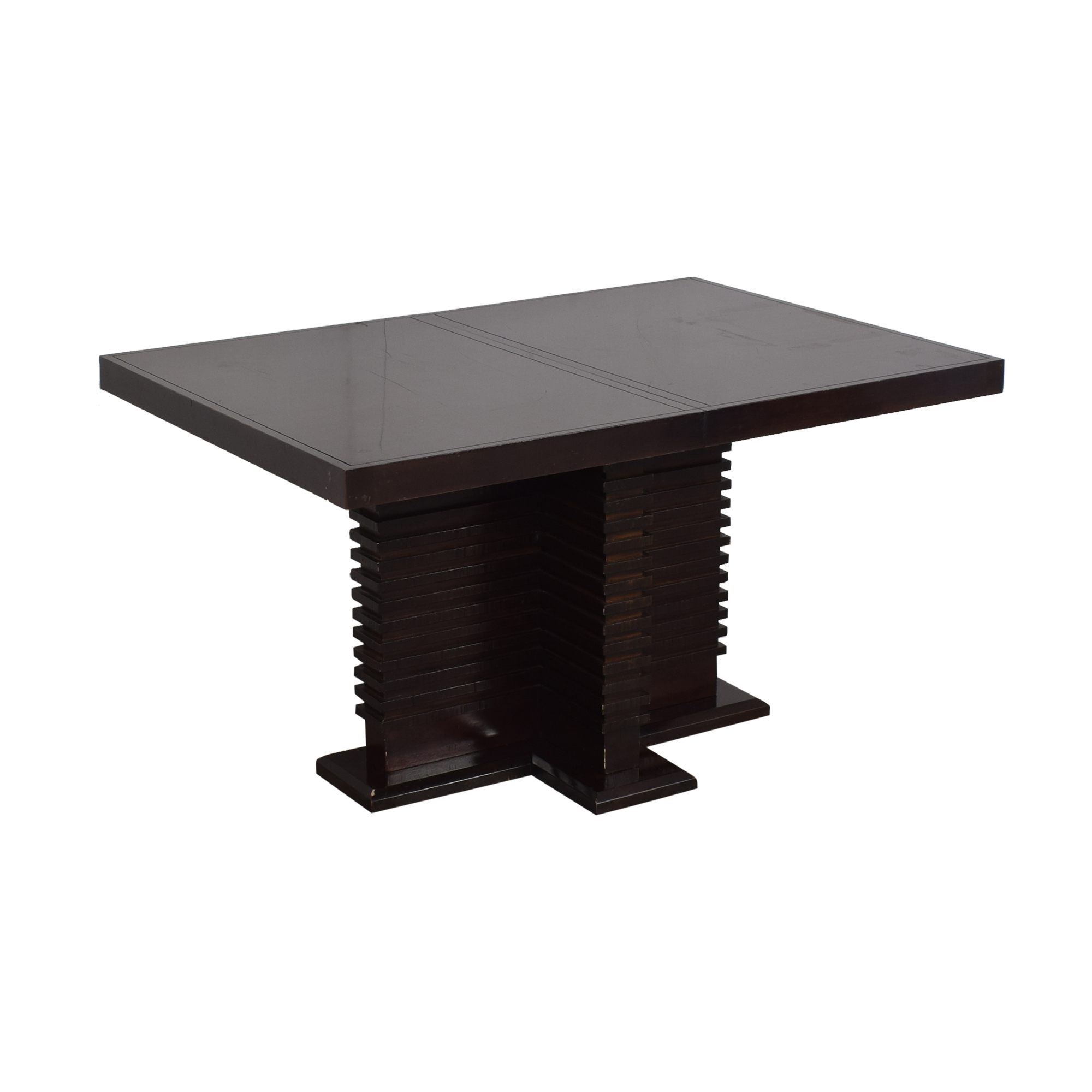 Legacy Classic Furniture Rectangular Pedestal Table / Tables