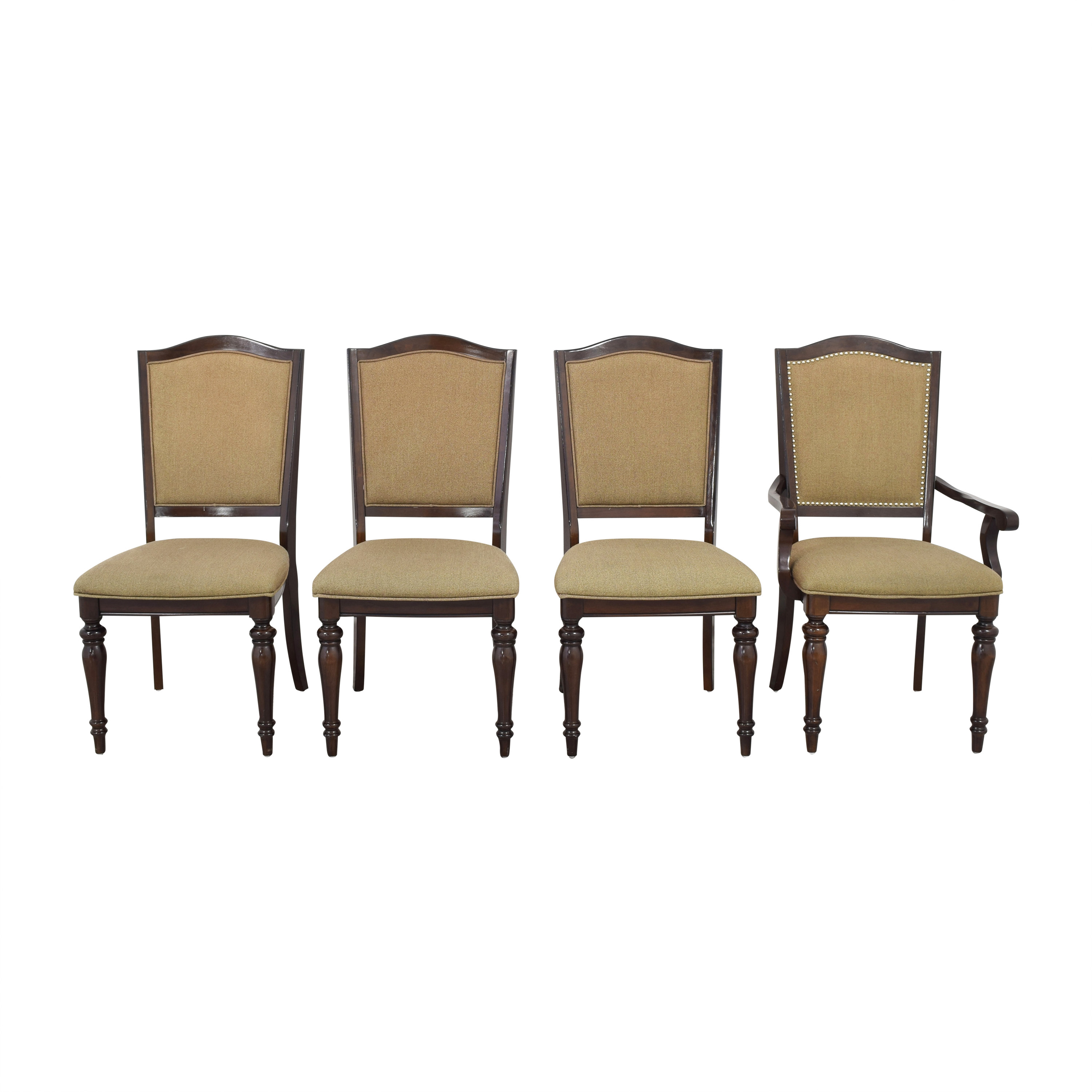 buy Raymour & Flanigan Bay City Studded Dining Chairs Raymour & Flanigan