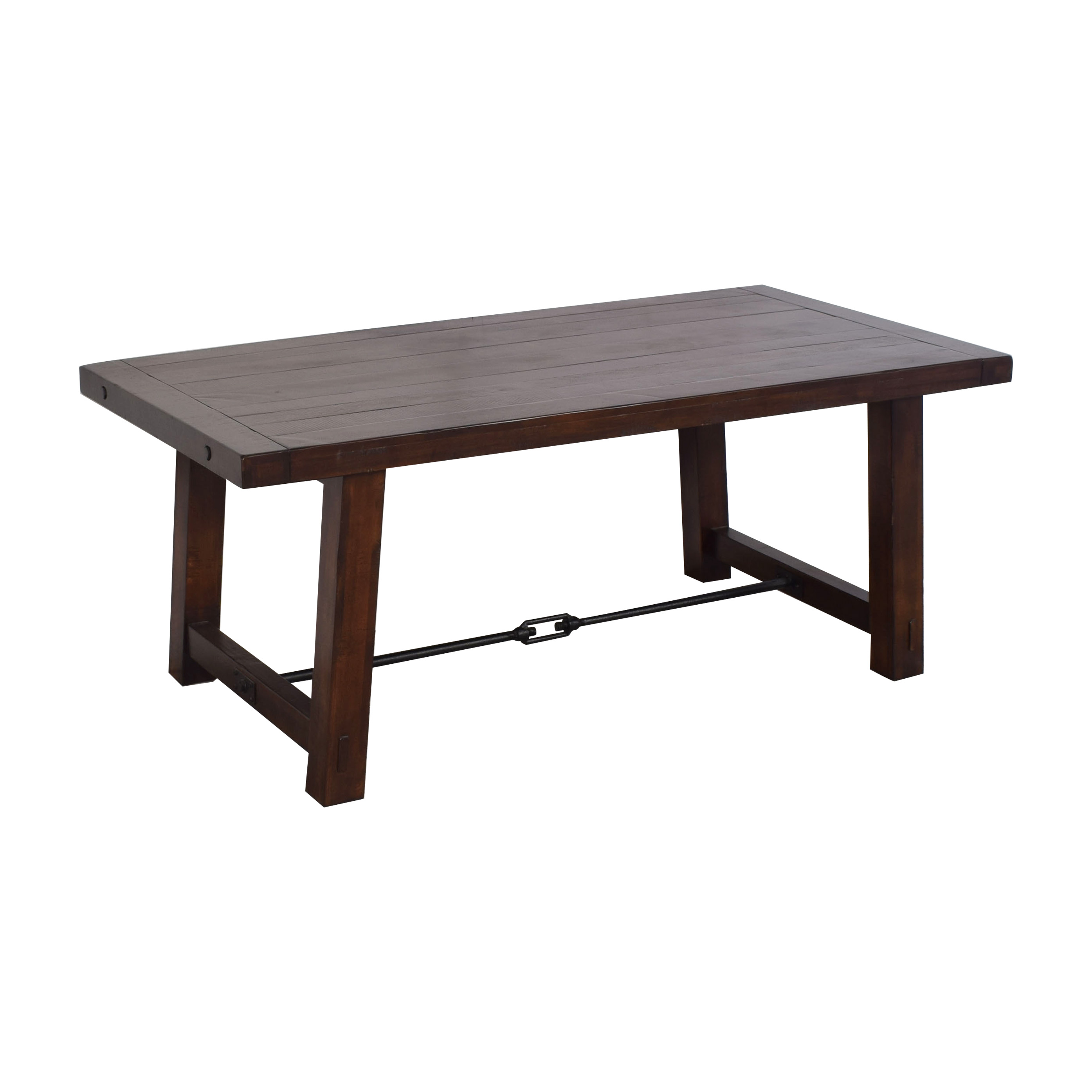 shop Pottery Barn Benchwright Dining Table Pottery Barn Dinner Tables