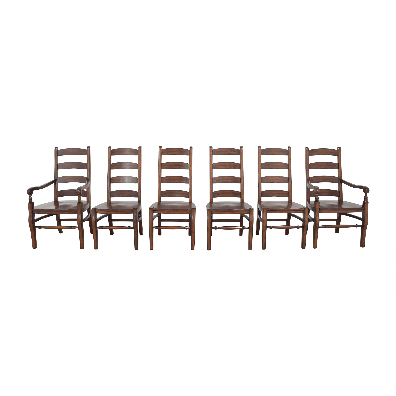Pottery Barn Pottery Barn Wynn Ladderback Dining Chairs used