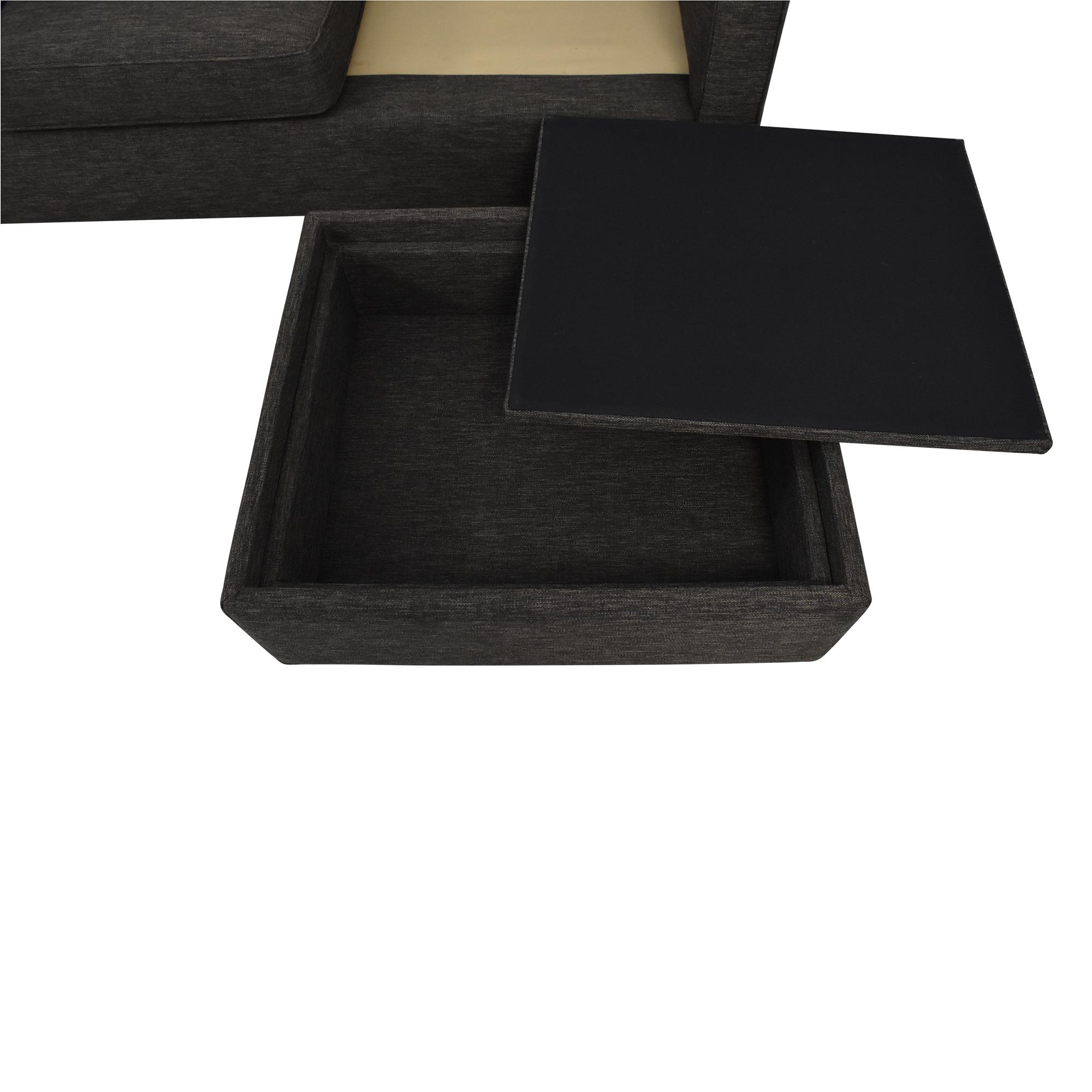 Crate & Barrel Crate & Barrel Davis Sectional Sofa second hand