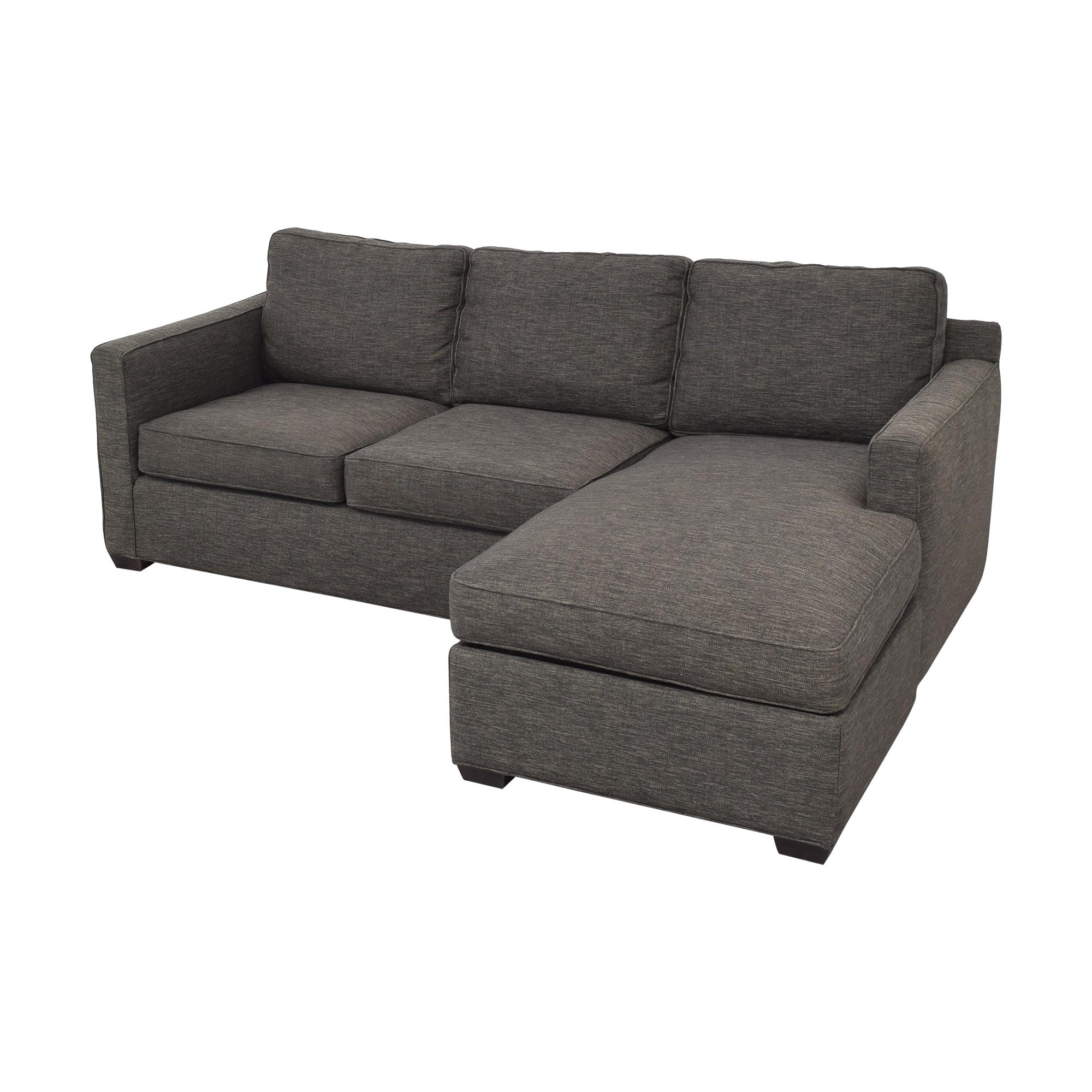 buy Crate & Barrel Davis Sectional Sofa Crate & Barrel Sofas
