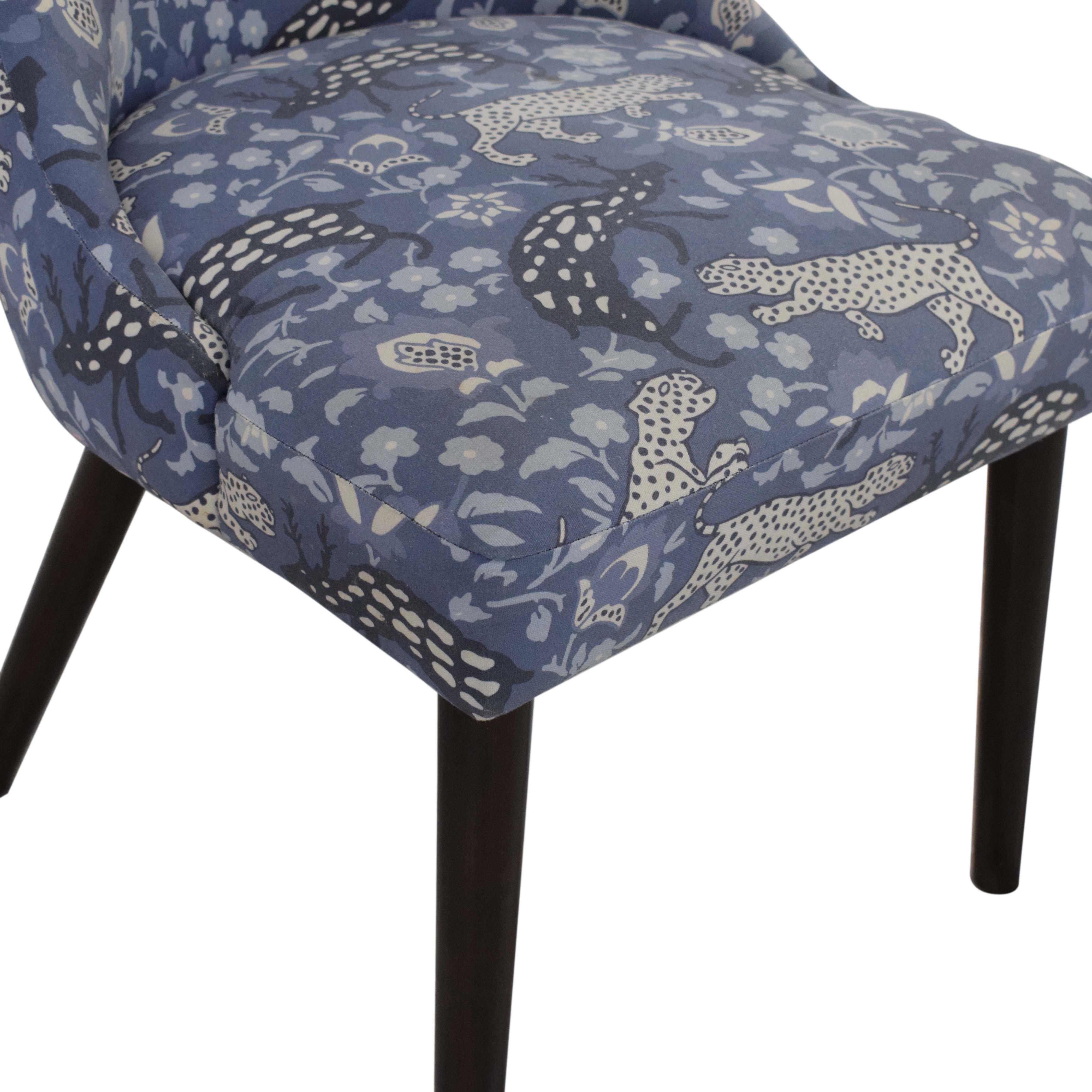 Skyline Furniture Skyline Patterned Upholstered Dining Chair ma