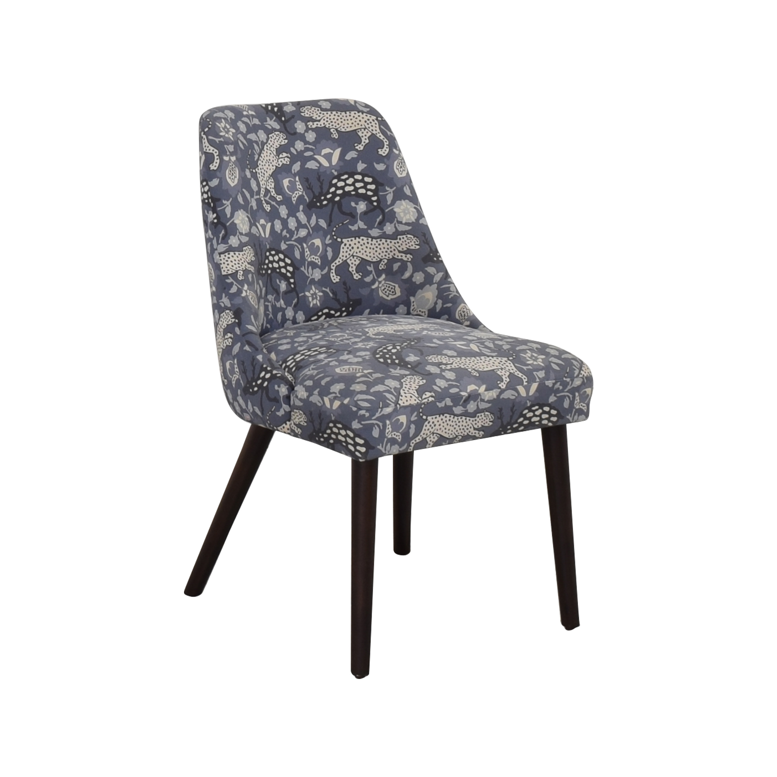 Skyline Patterned Upholstered Dining Chair / Chairs