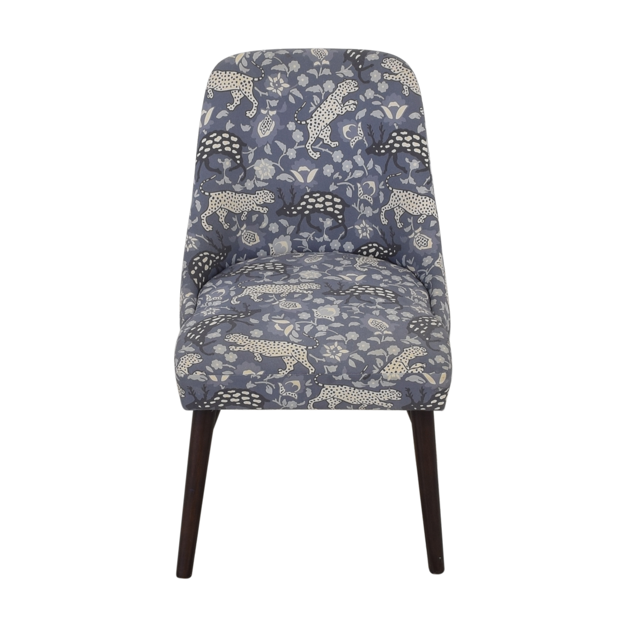 Skyline Patterned Upholstered Dining Chair sale