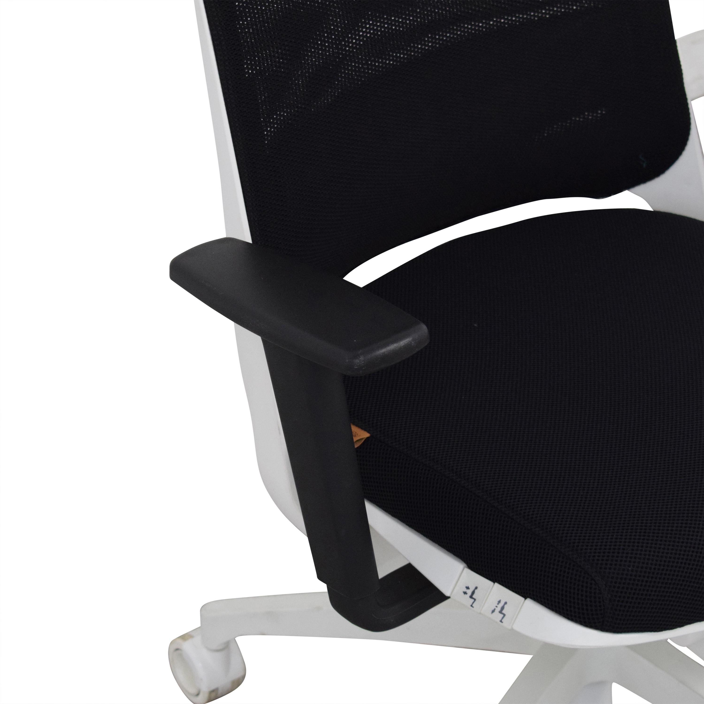 shop Koleksiyon Tola Managerial Chair Koleksiyon Home Office Chairs