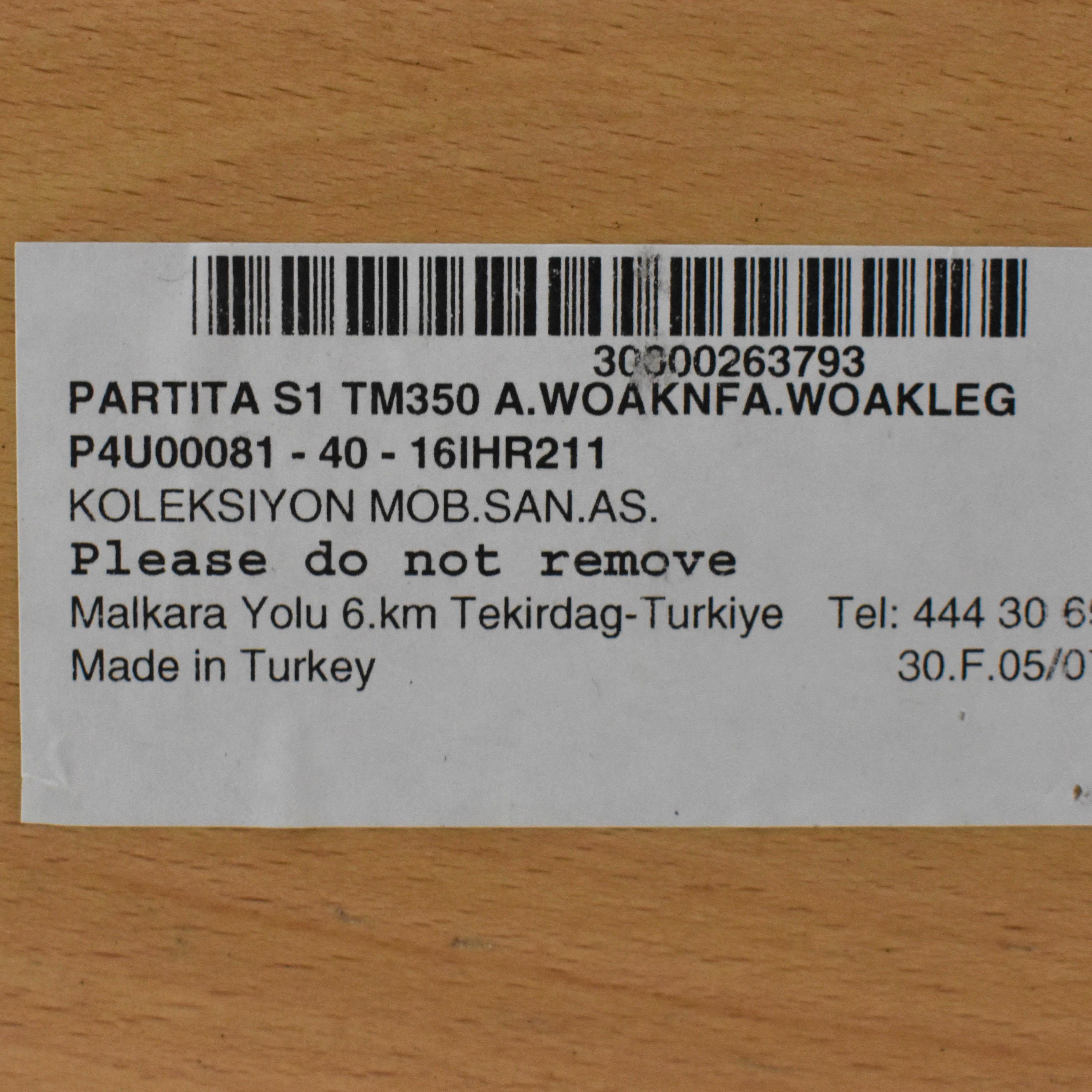 buy Koleksiyon Koleksiyon Partita Dining Table online