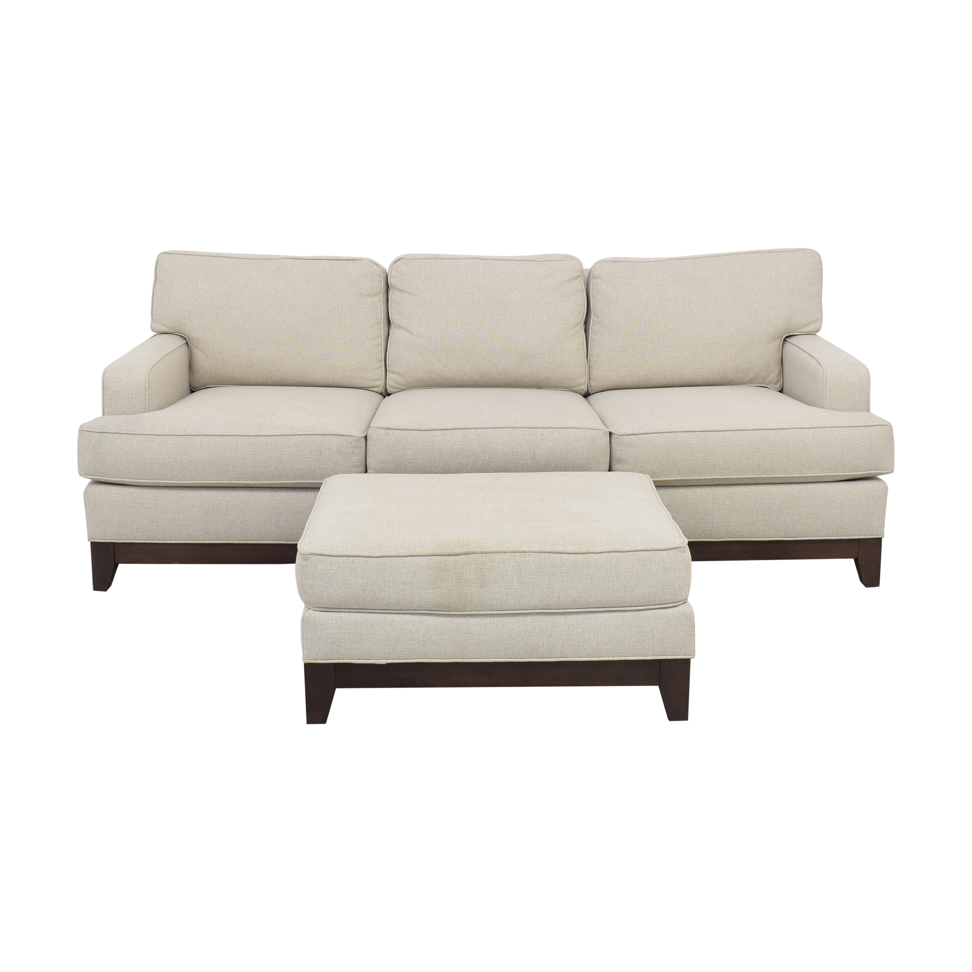 Ethan Allen Ethan Allen Arcata Sofa with Ottoman coupon