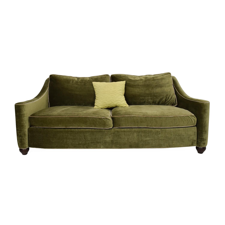 Domain Home Classic Sofa Domain Home. 46  OFF   IKEA IKEA Brown Three Cushion Leather Couch   Sofas