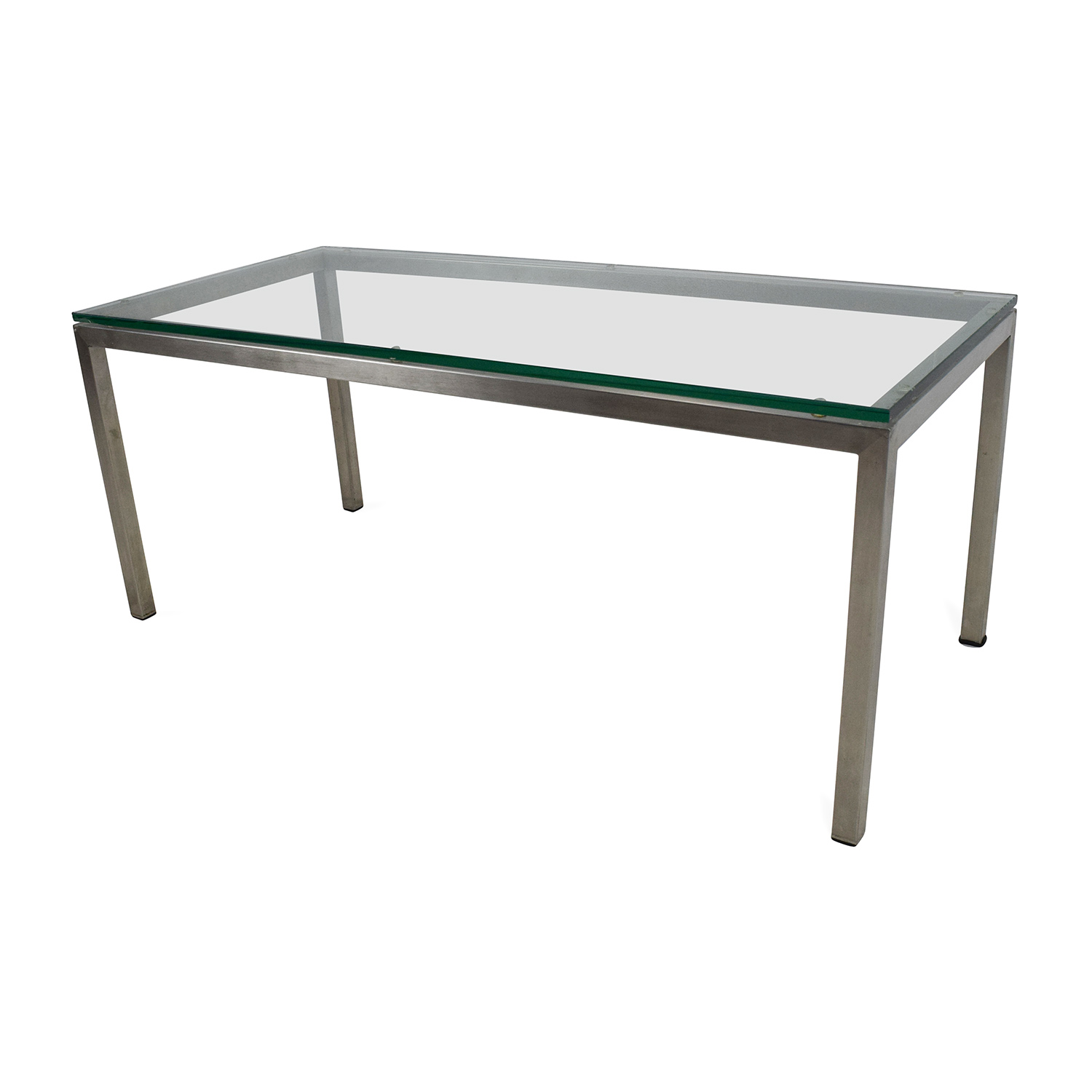 82 off room and board room and board glass coffee table tables Coffee table buy