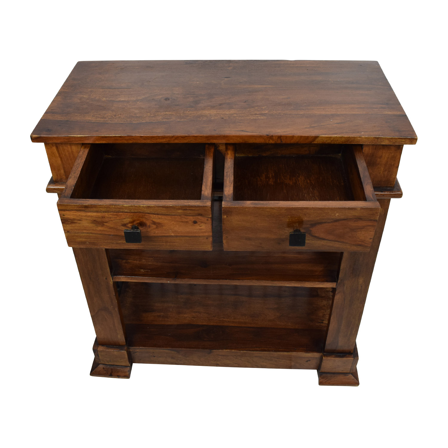 ... Holler And Squall Wood End Table / Tables ...