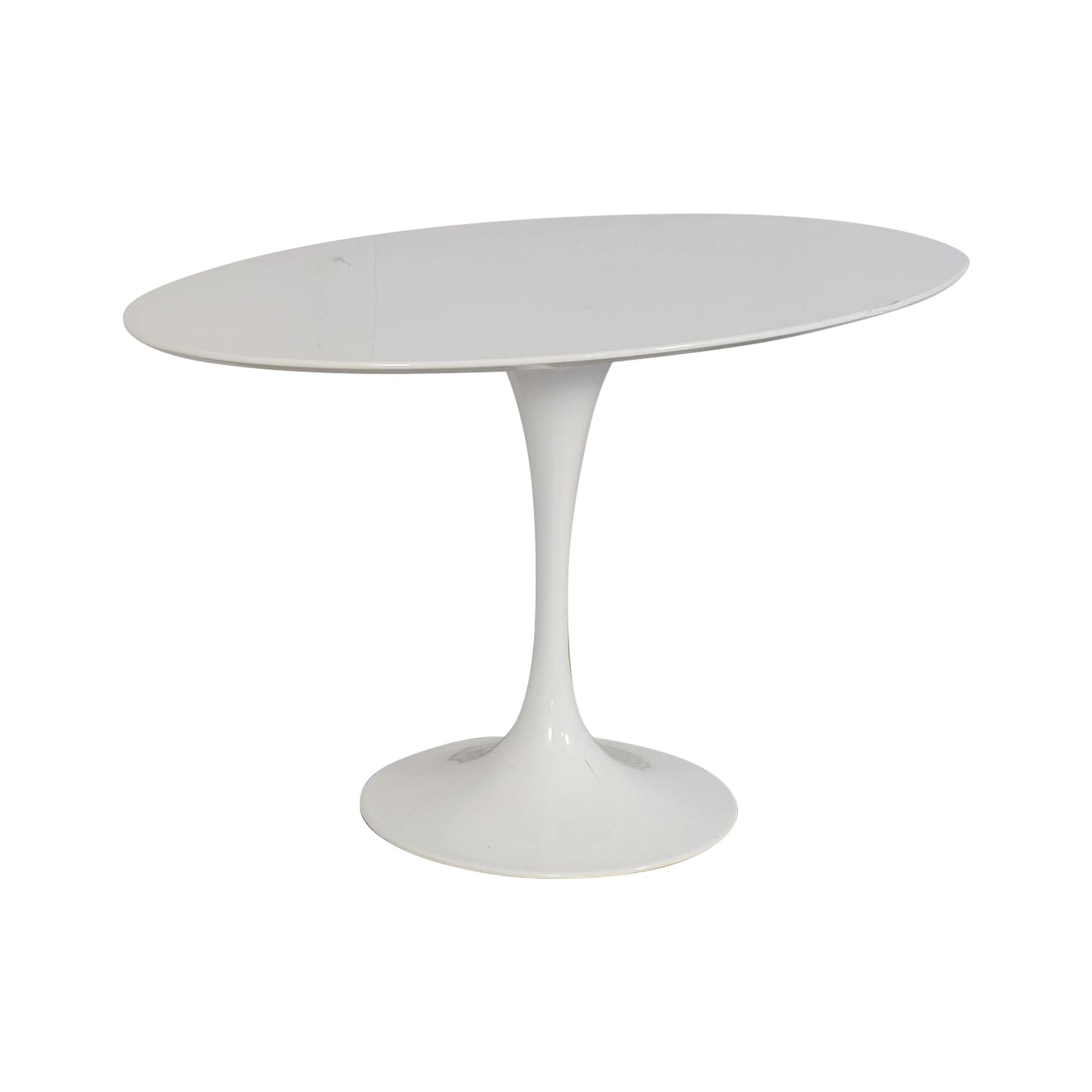 LexMod LexMod Lippa Oval Dining Table nyc