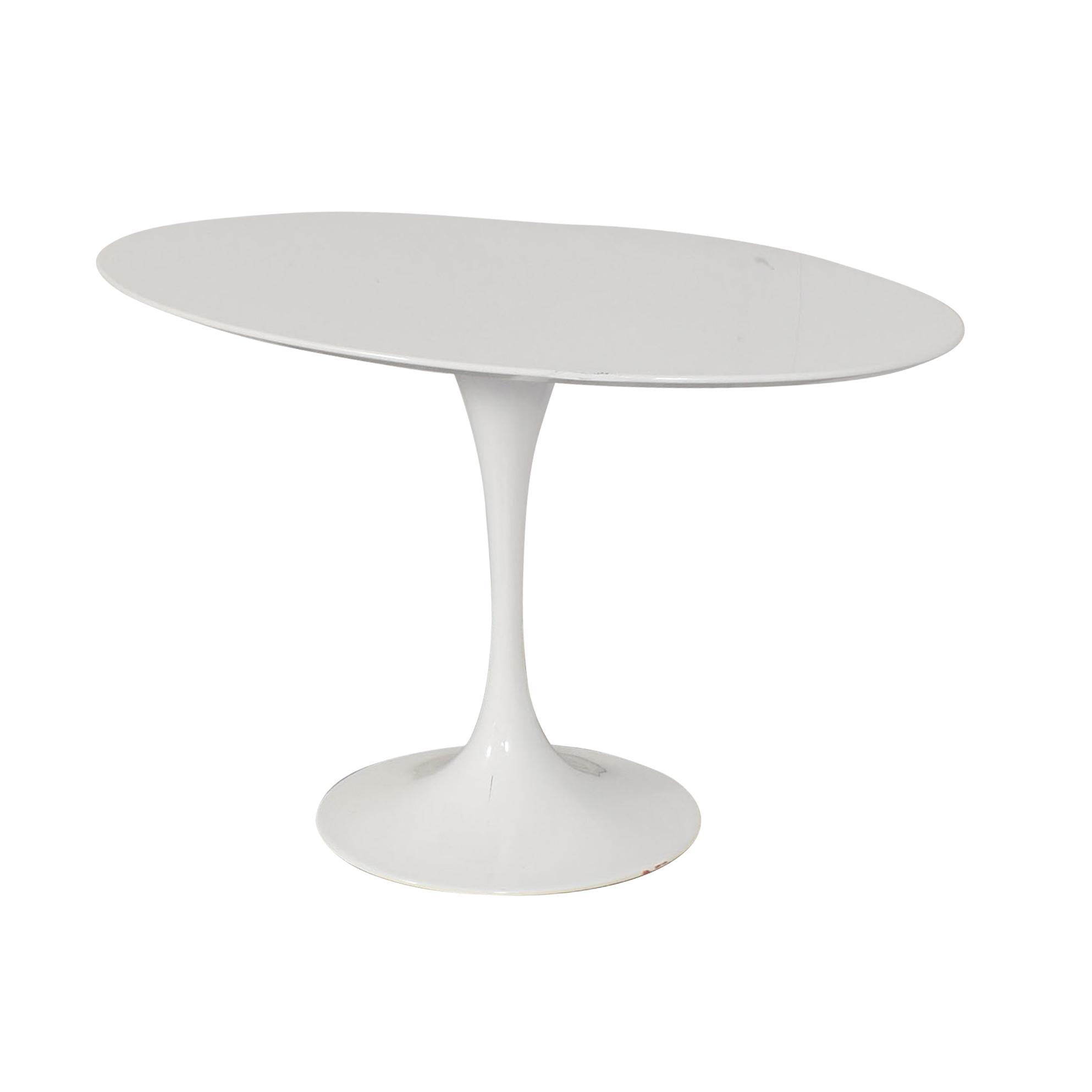 LexMod LexMod Lippa Oval Dining Table ma