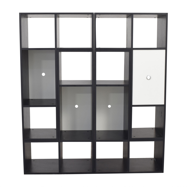 shop CB2 Modular Bookshelf CB2 Storage