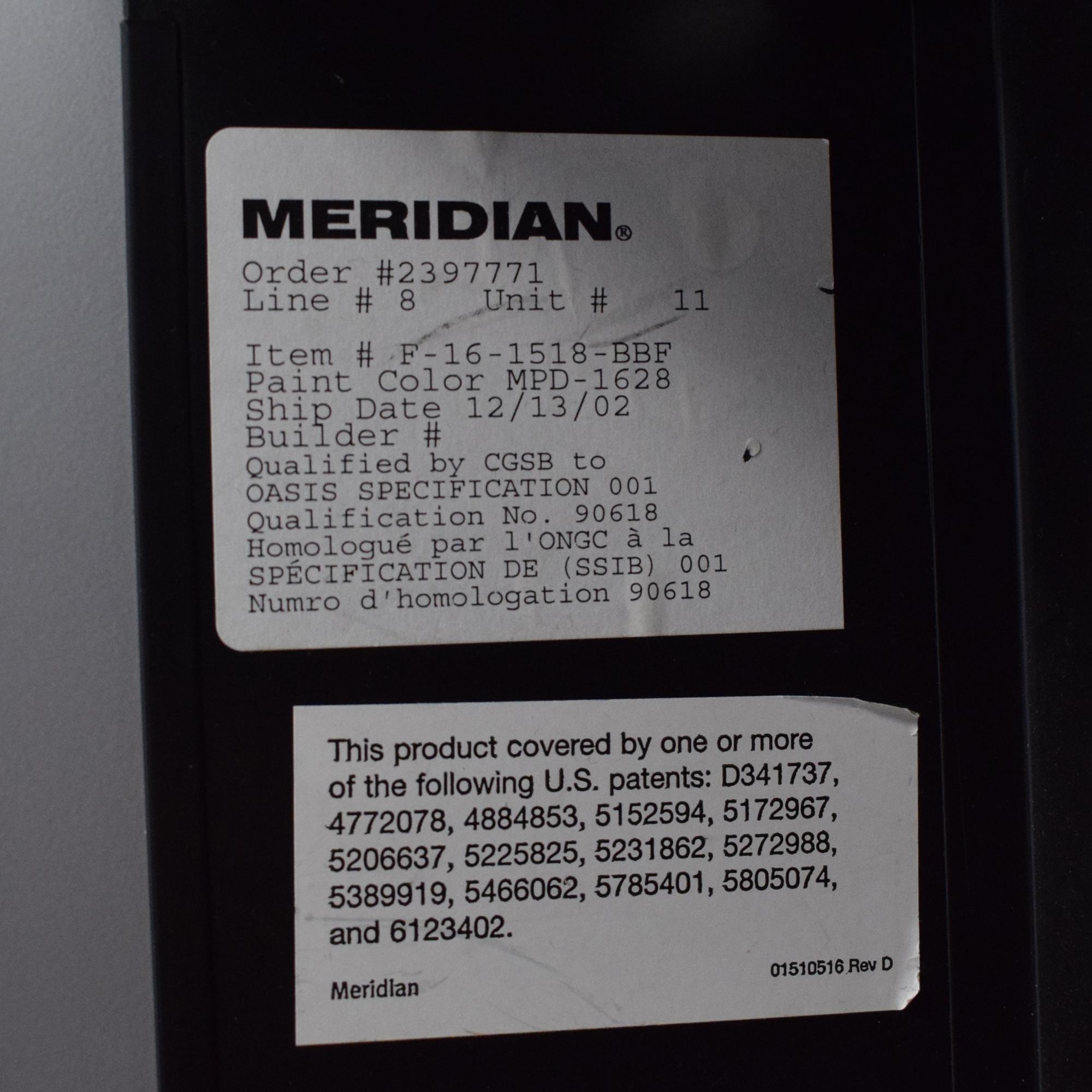 Herman Miller Herman Miller Meridian Filing Cabinet dimensions