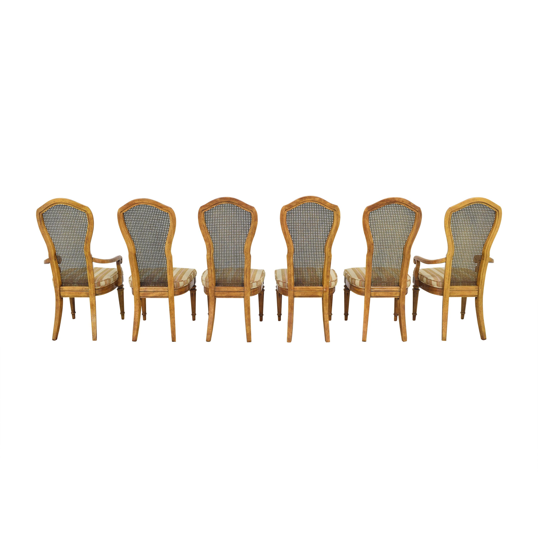 shop JBW Lustig Cane Back Dining Chairs JBW Lustig Dining Chairs