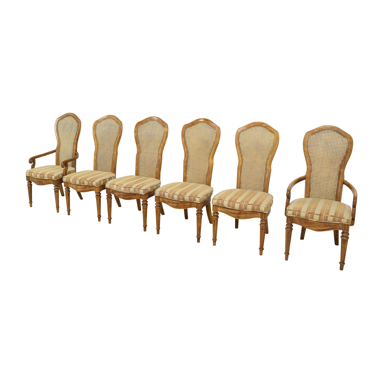 JBW Lustig JBW Lustig Cane Back Dining Chairs price