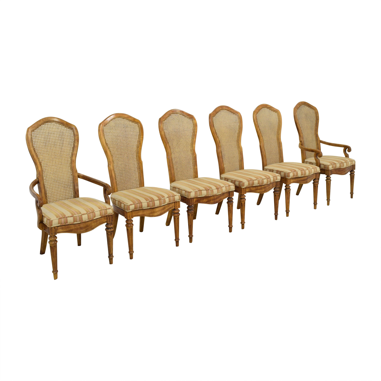 JBW Lustig JBW Lustig Cane Back Dining Chairs coupon
