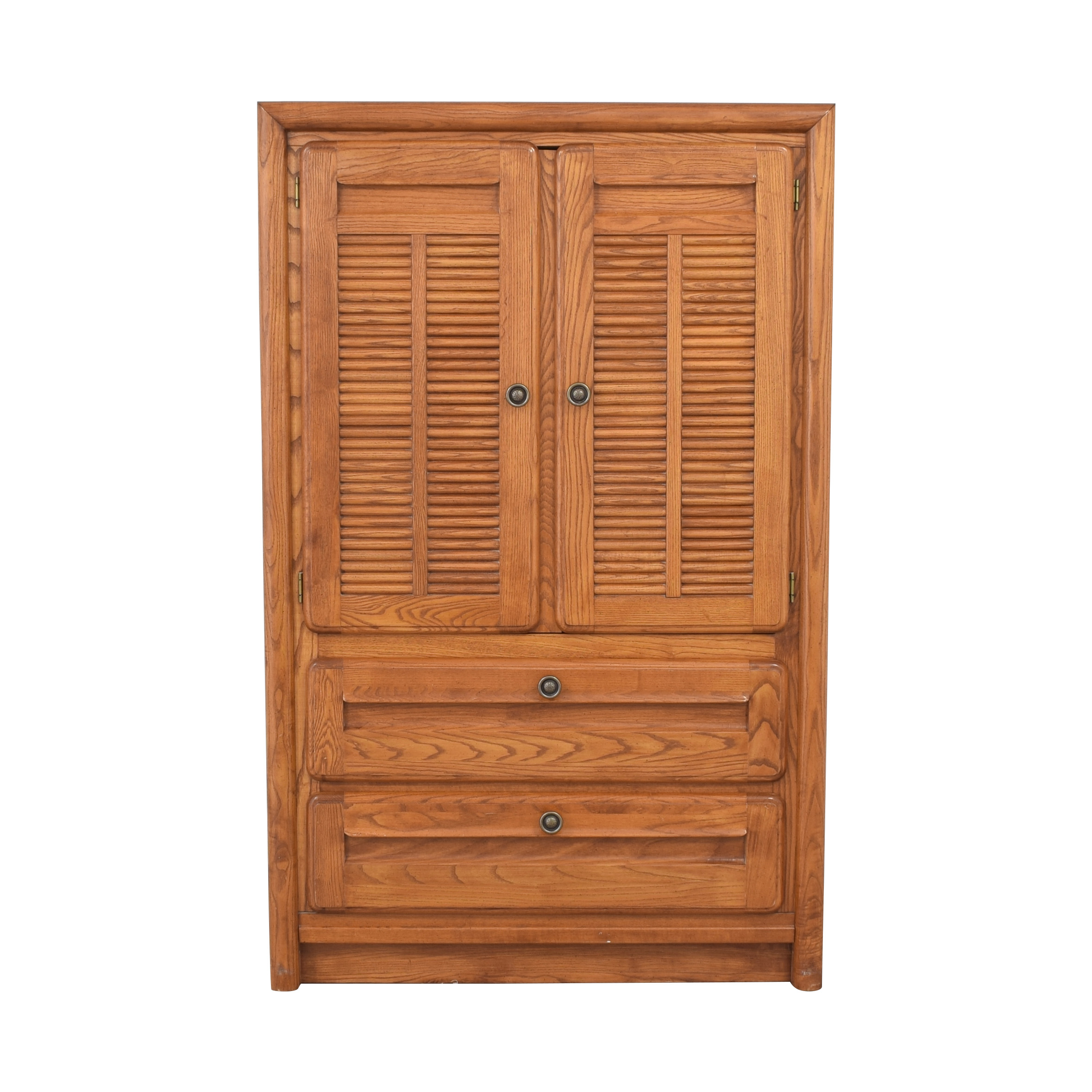 Low Armoire with Drawers brown