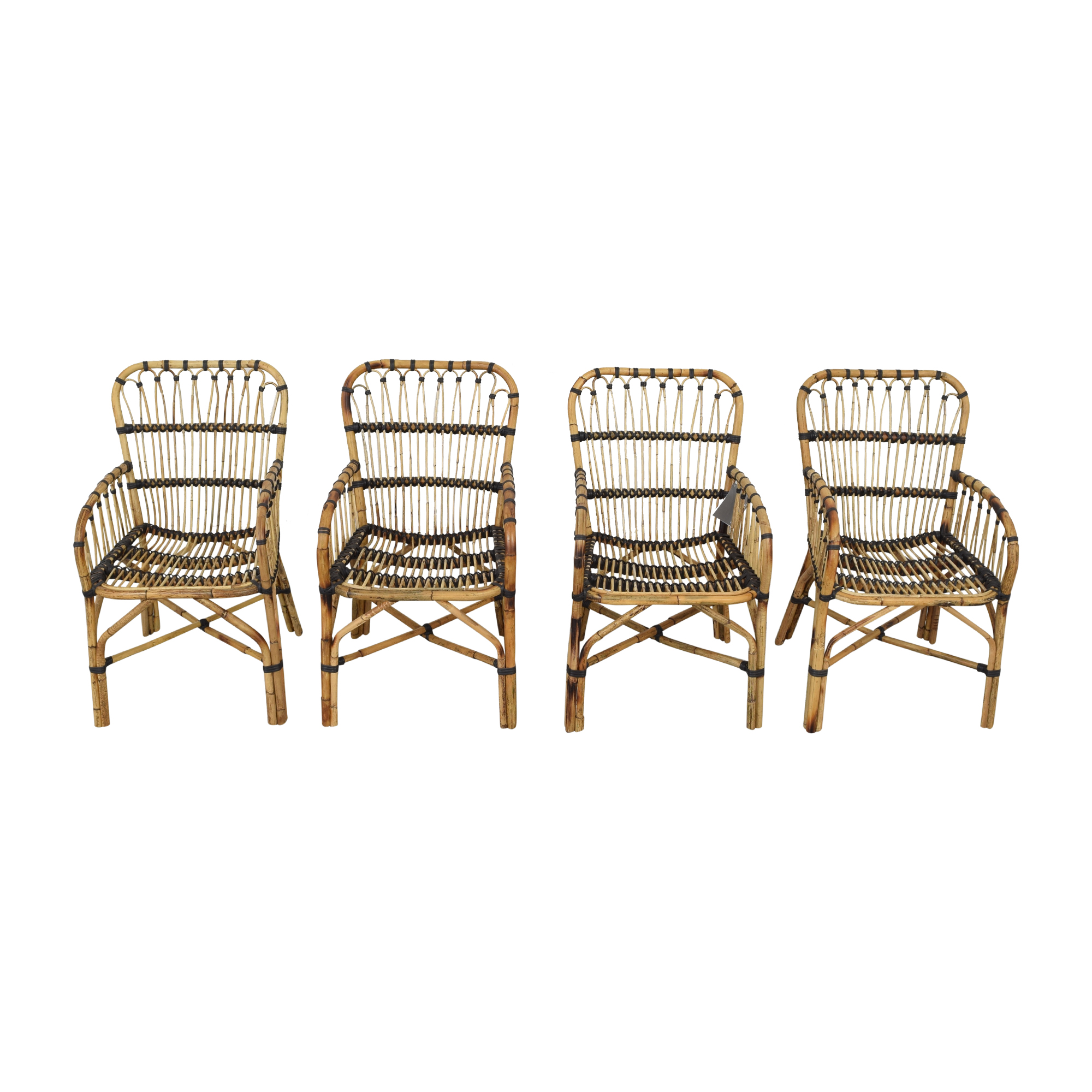 Article Malou Rattan Dining Chairs Article