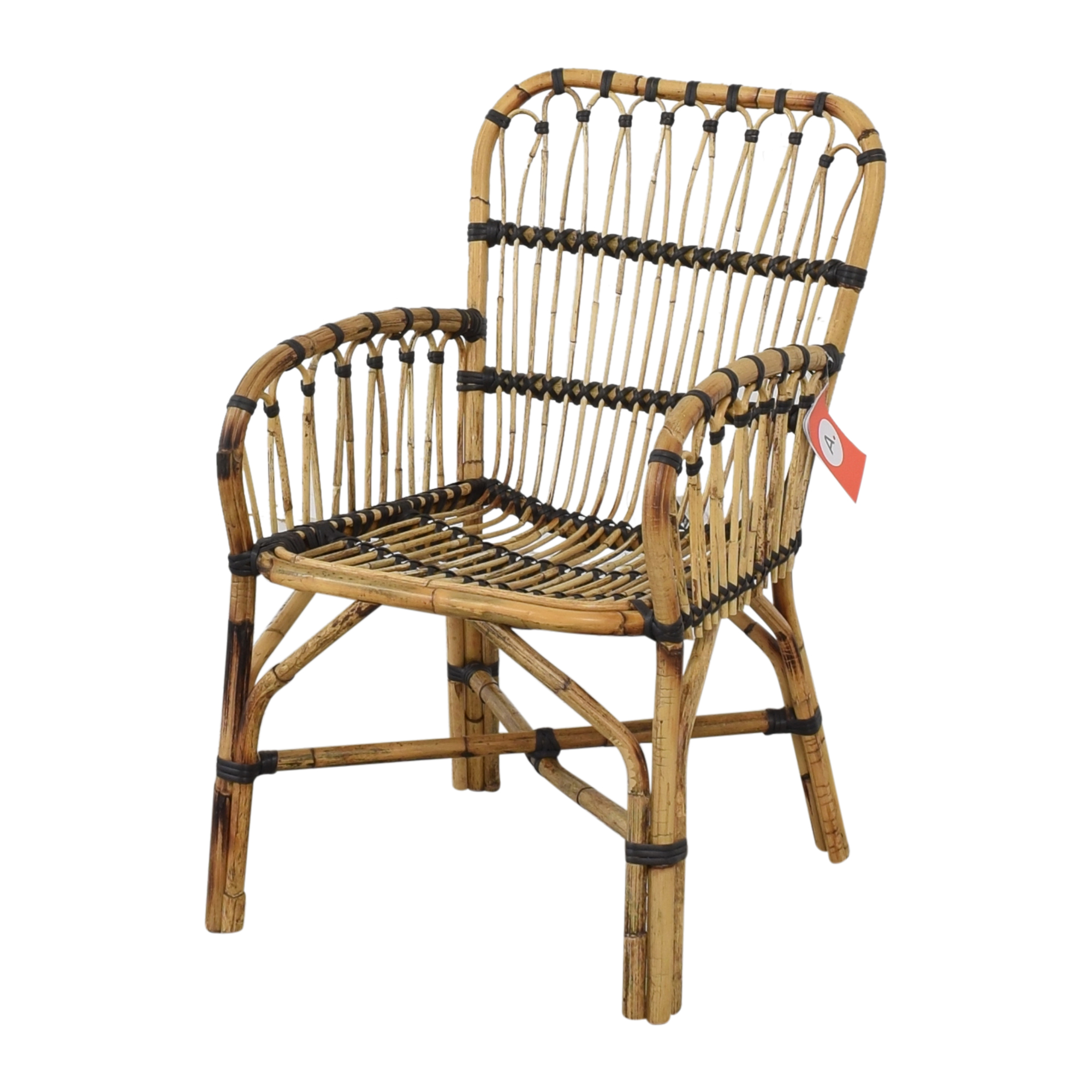 Article Article Malou Rattan Dining Chairs dimensions