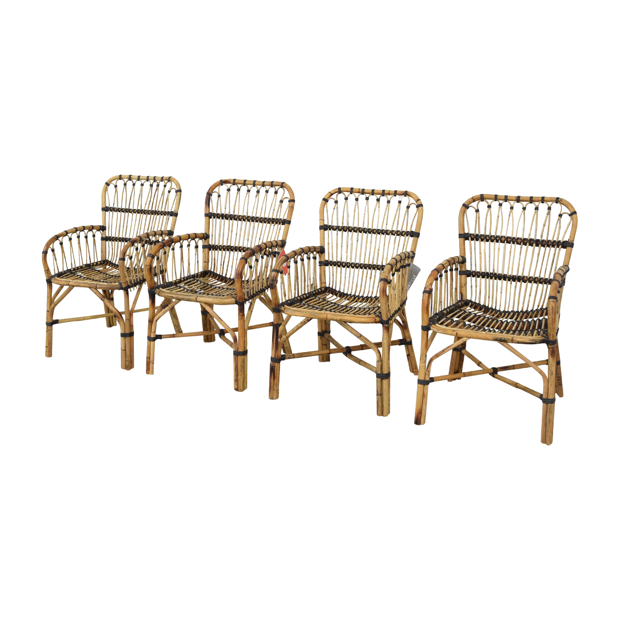 Article Malou Rattan Dining Chairs / Dining Chairs