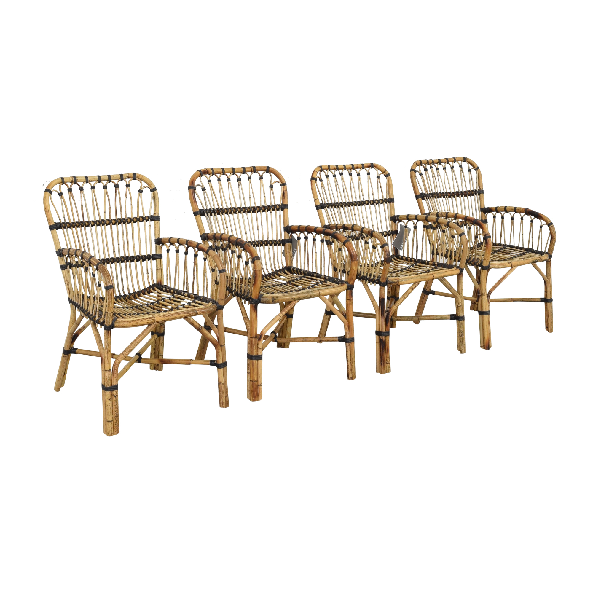 shop Article Malou Rattan Dining Chairs Article Chairs
