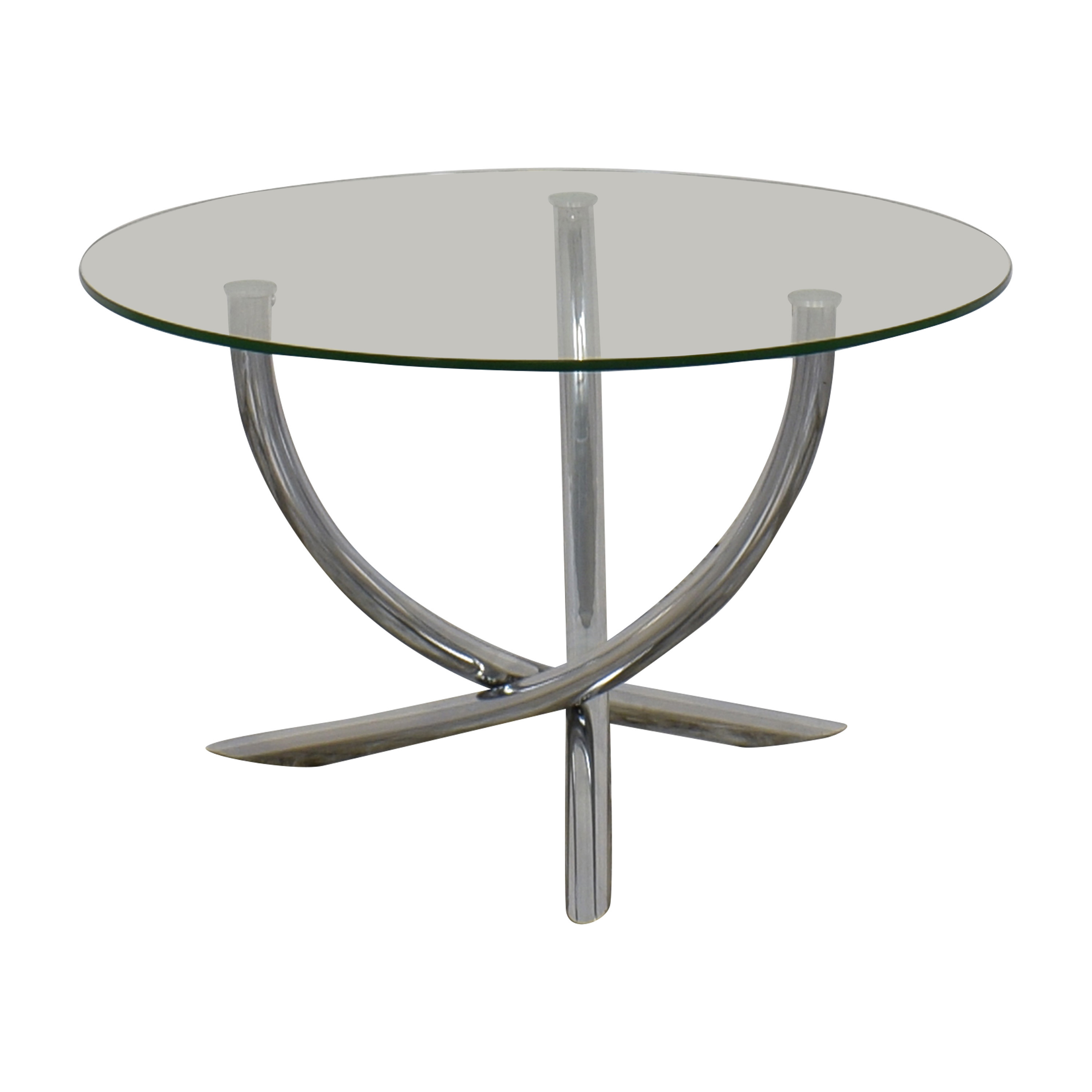 shop Round Glass Top Table  Tables