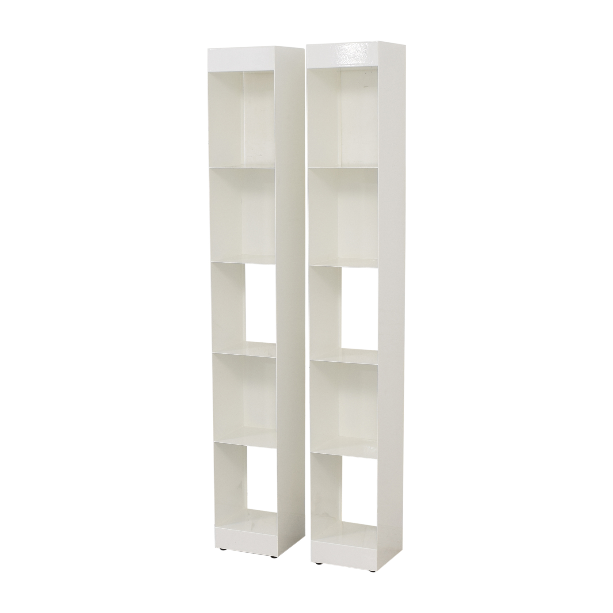 shop CB2 CB2 Carlson II Bookcase Towers online