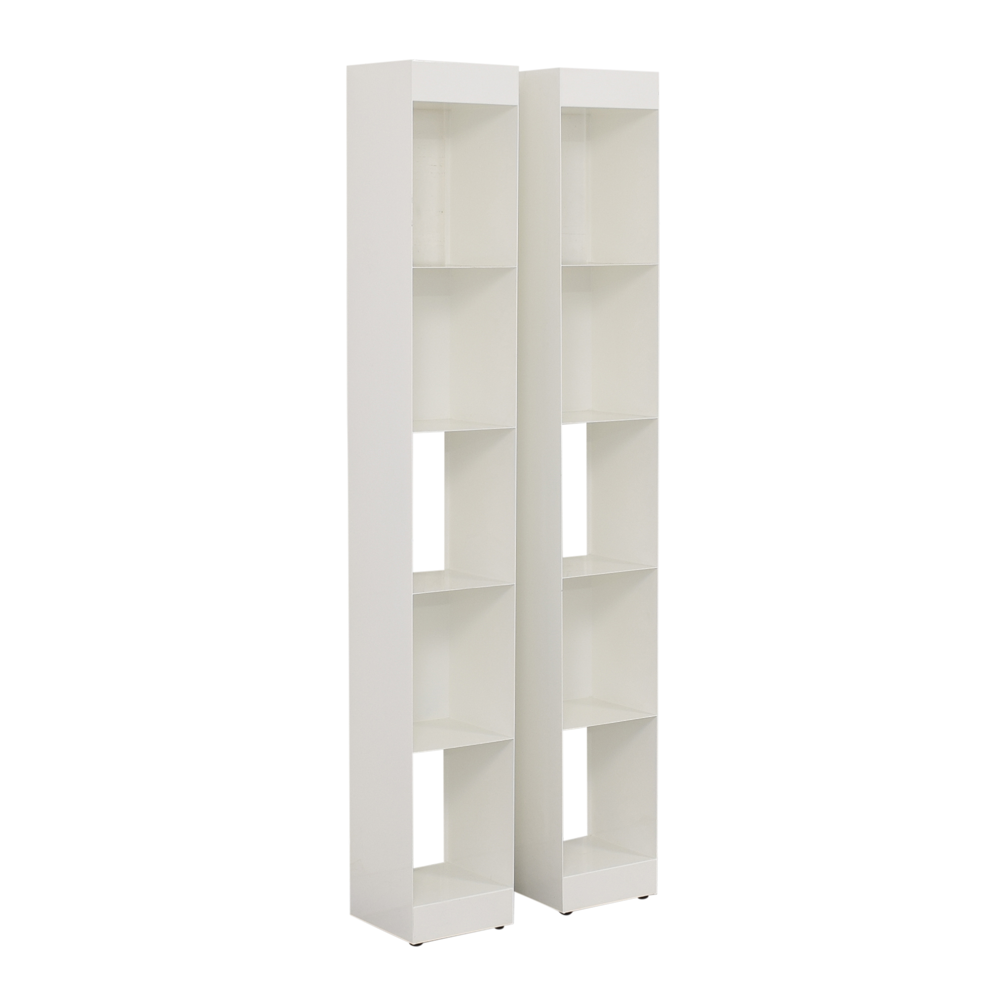 buy CB2 Carlson II Bookcase Towers CB2 Bookcases & Shelving