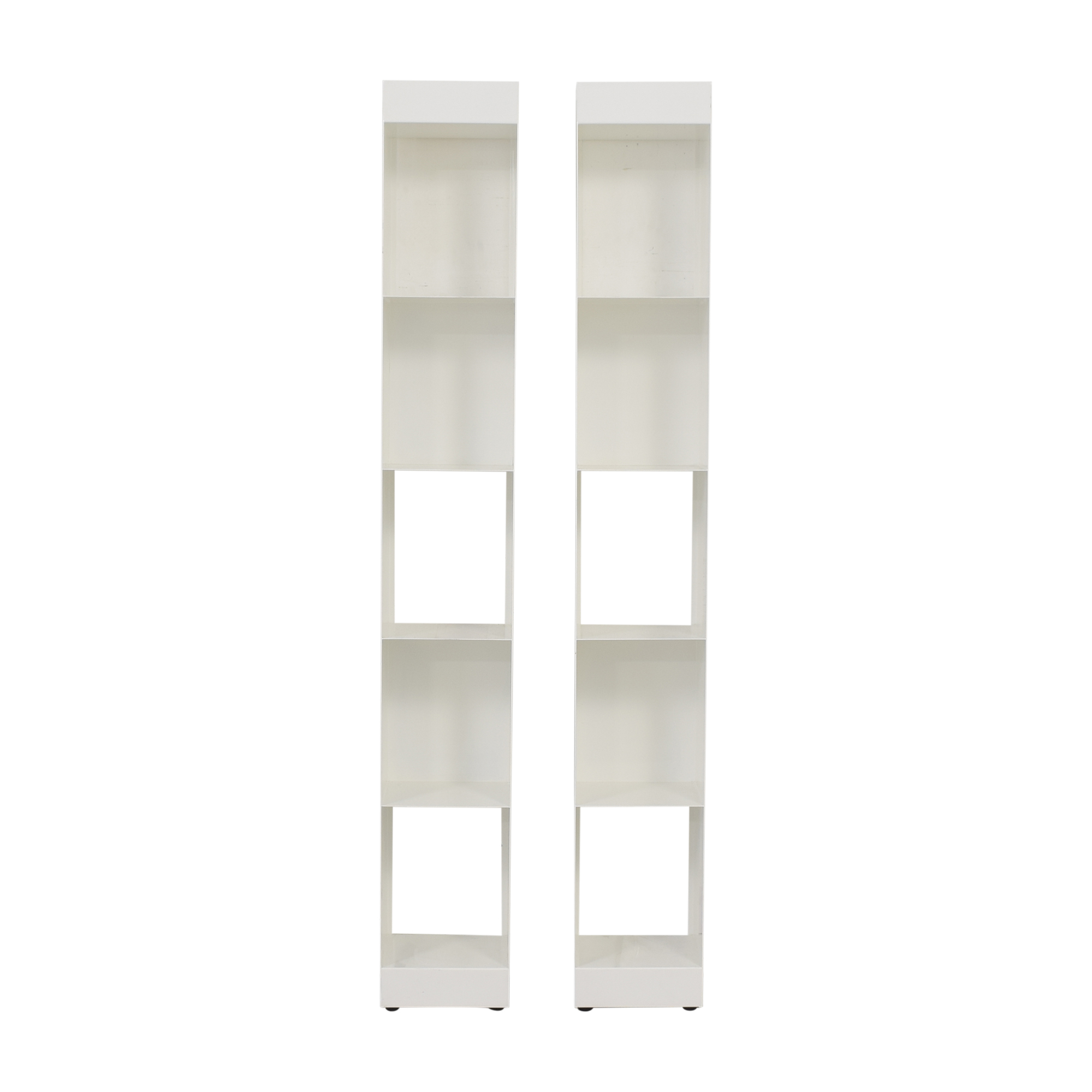 shop CB2 Carlson II Bookcase Towers CB2 Bookcases & Shelving