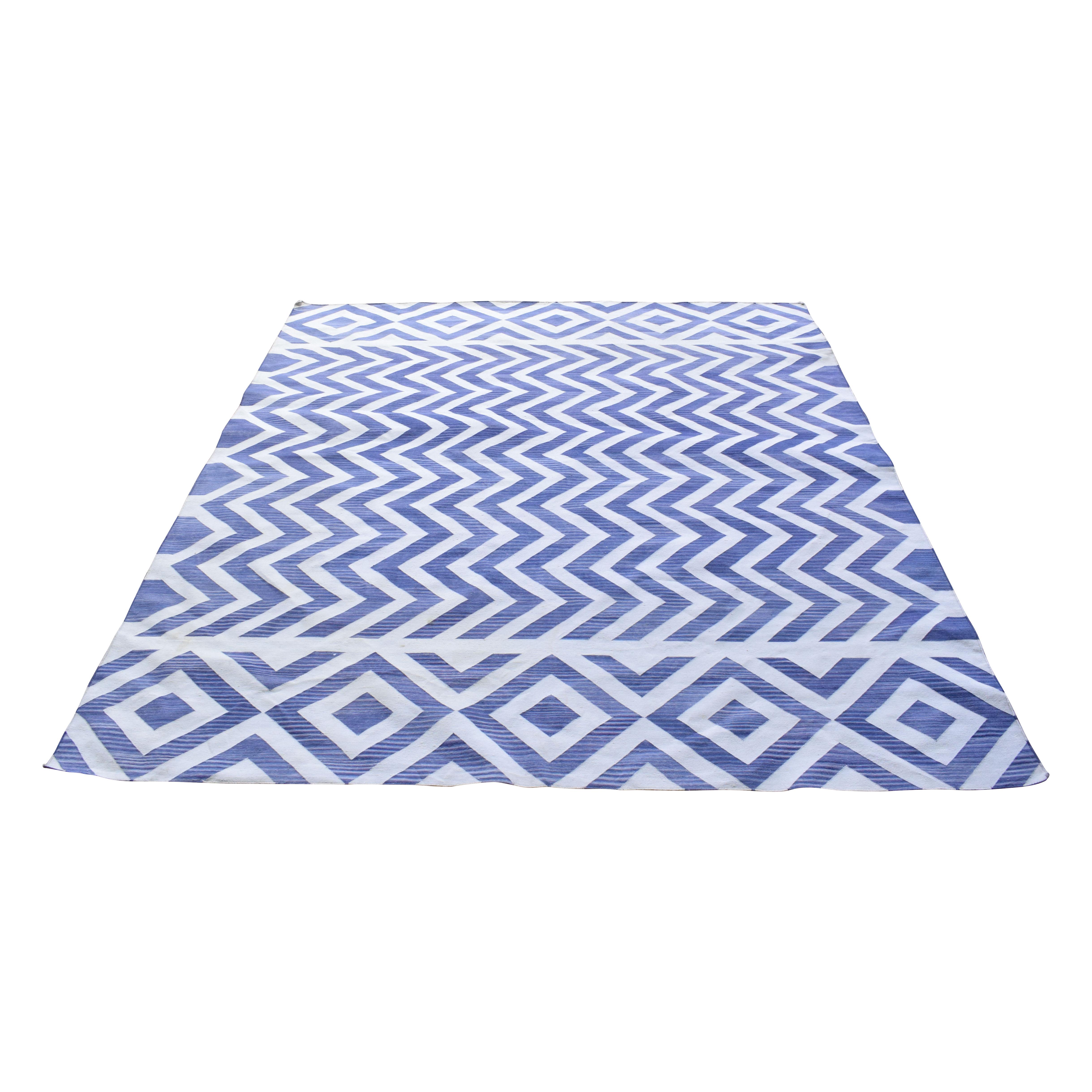Madeline Weinrib Madeline Weinrib Amagansett Indigo Lupe Cotton Carpet price