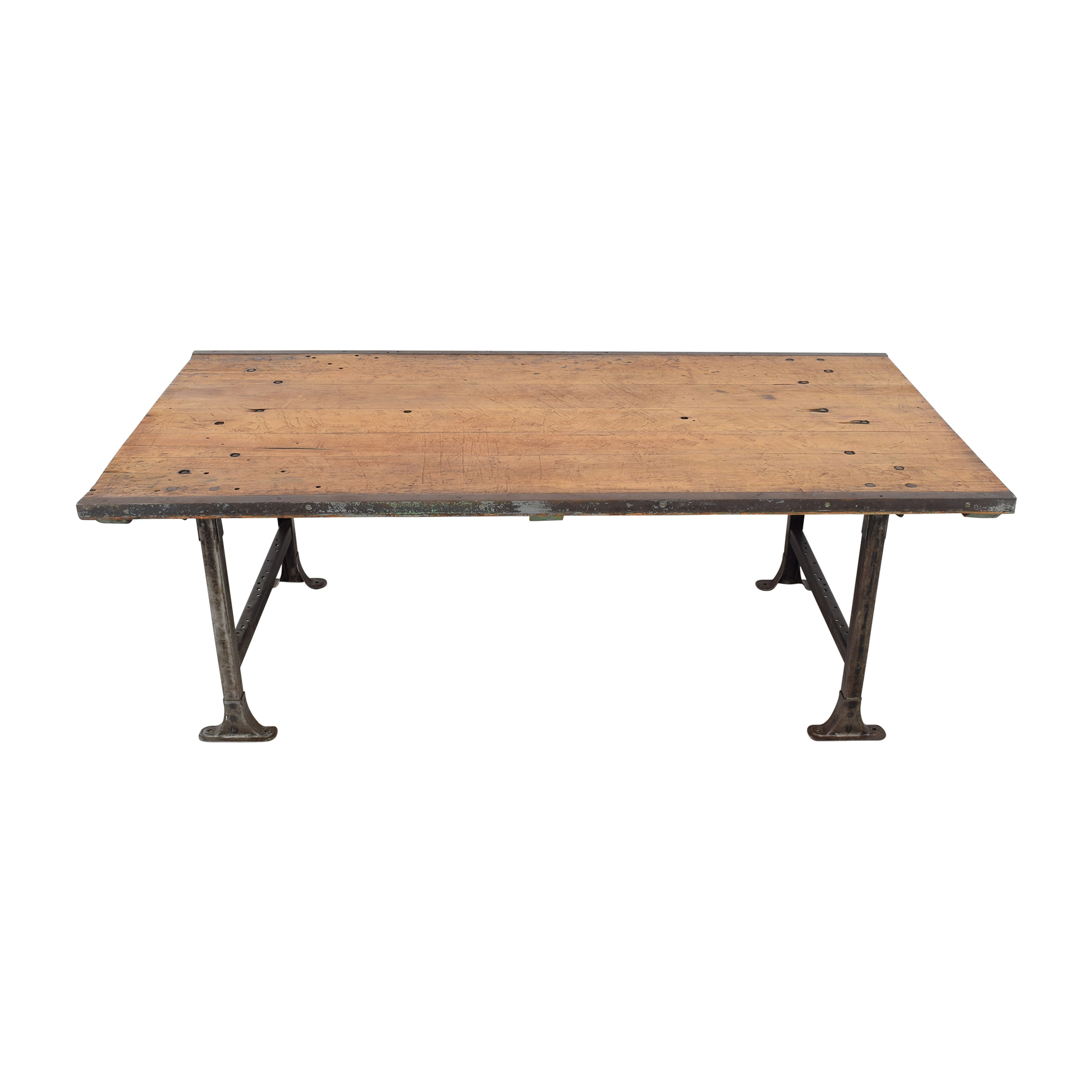 buy ABC Carpet & Home Vintage Industrial Dining Table ABC Carpet & Home Tables