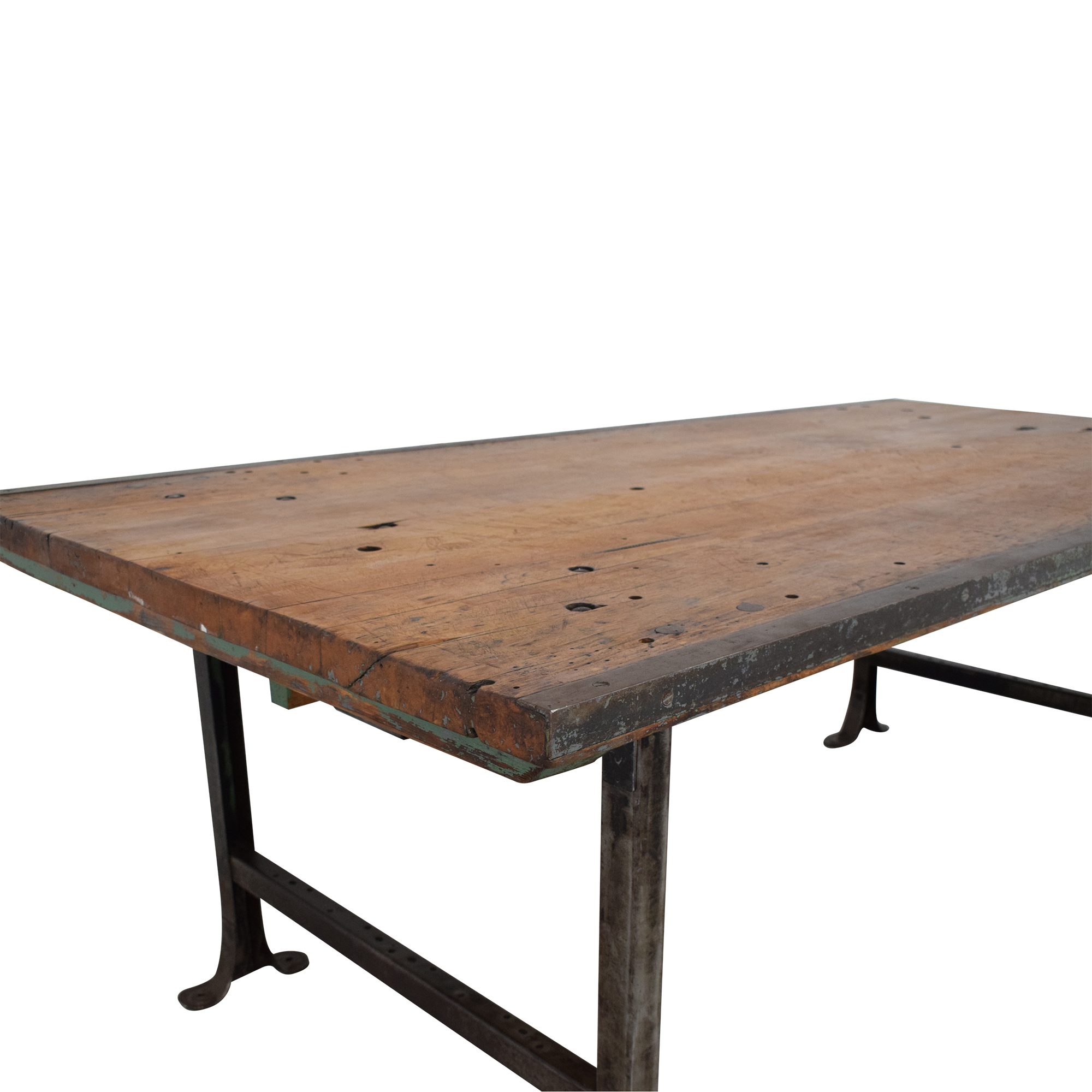 buy ABC Carpet & Home Vintage Industrial Dining Table ABC Carpet & Home
