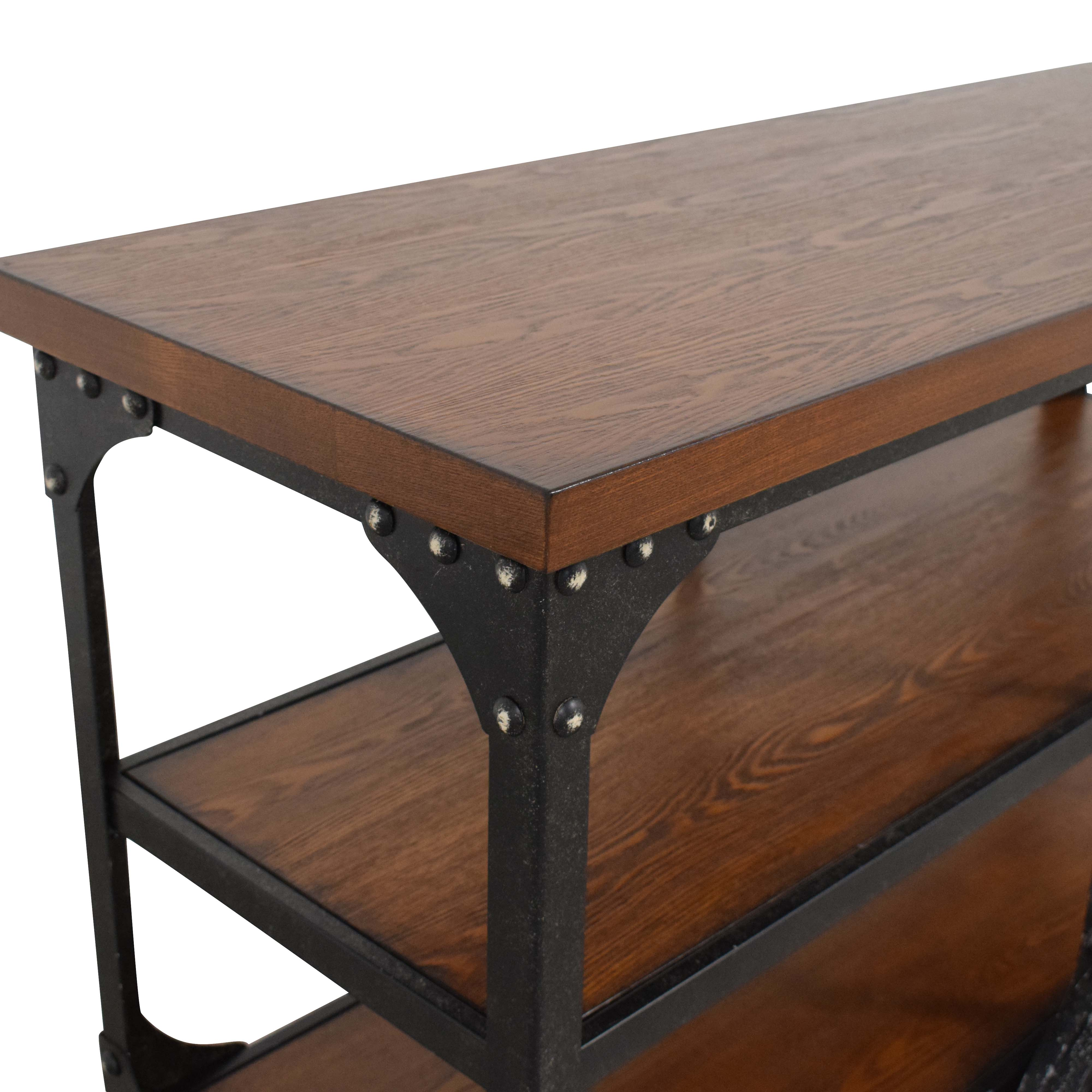 Coaster Fine Furniture Coaster Norland Rustic Side Table or Sofa Table nyc