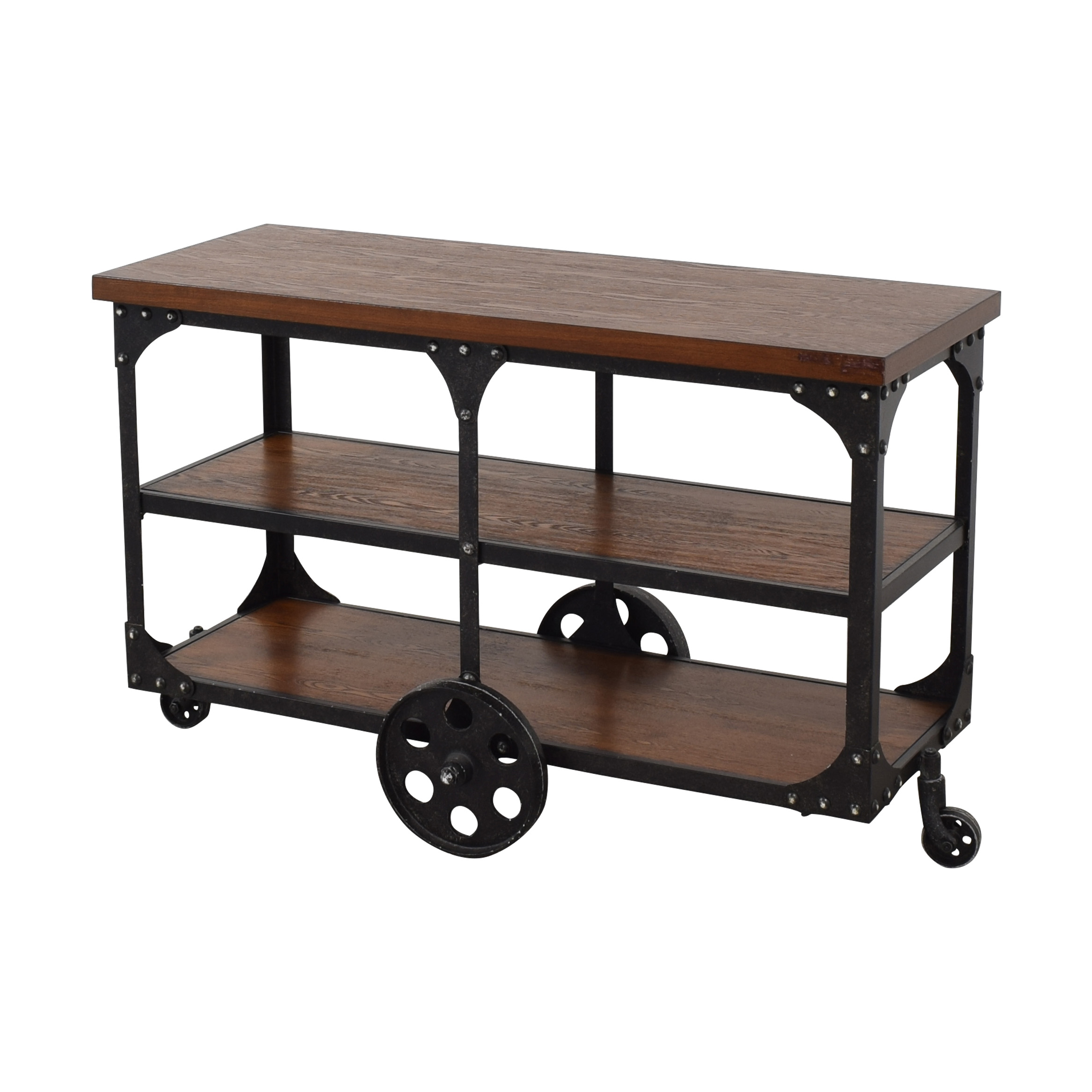 buy Coaster Norland Rustic Side Table or Sofa Table Coaster Fine Furniture Tables