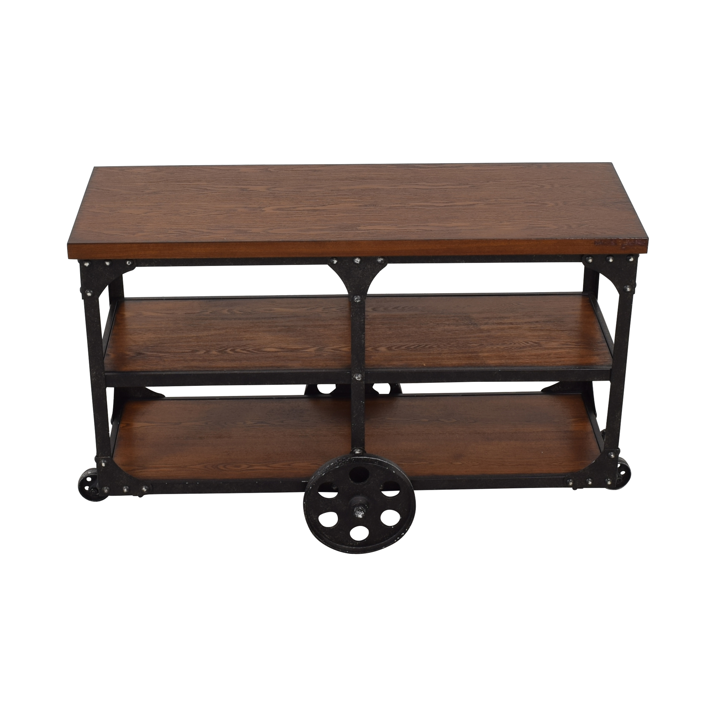 Coaster Fine Furniture Coaster Norland Rustic Side Table or Sofa Table Tables