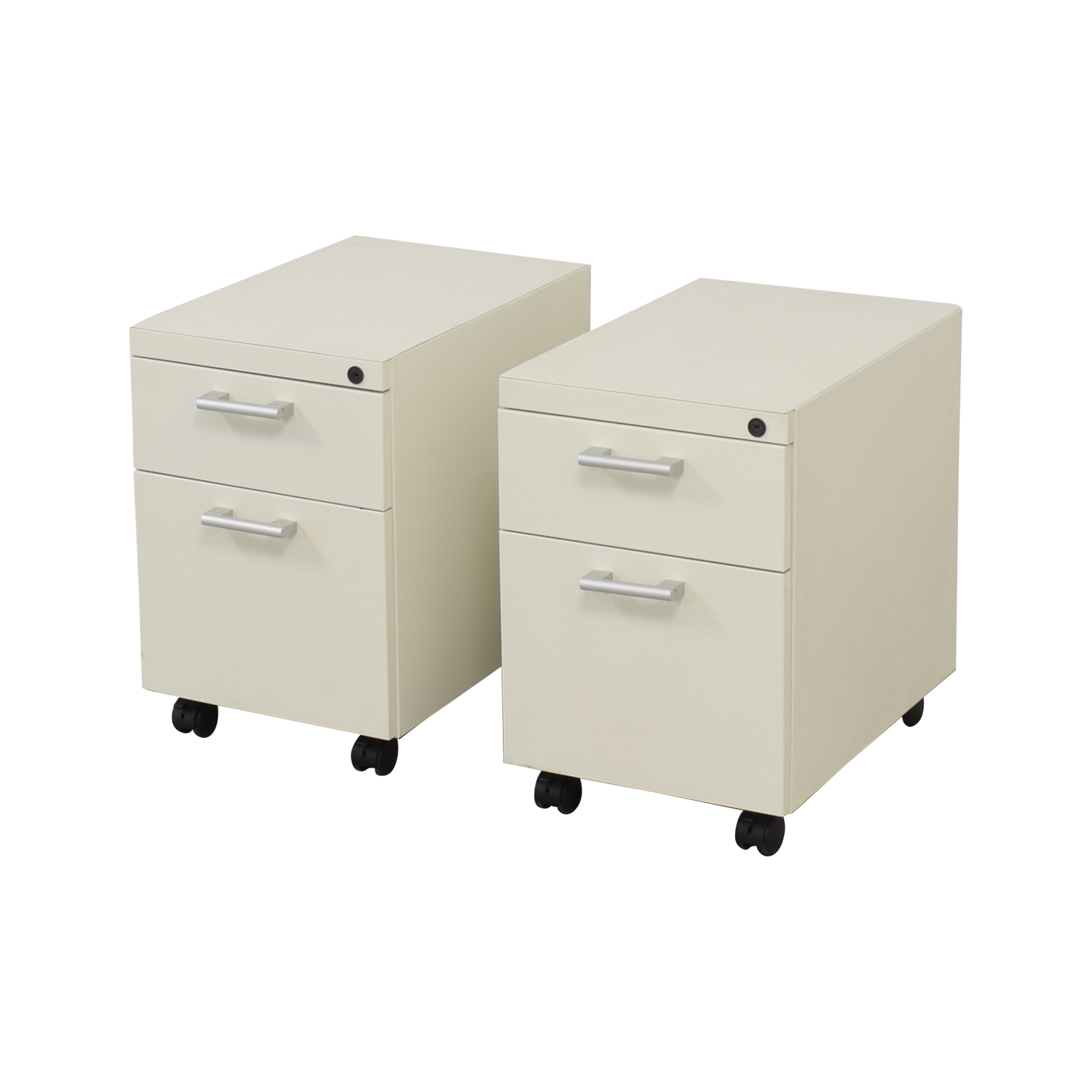 Office Depot Office Depot Rolling Filing Cabinets white