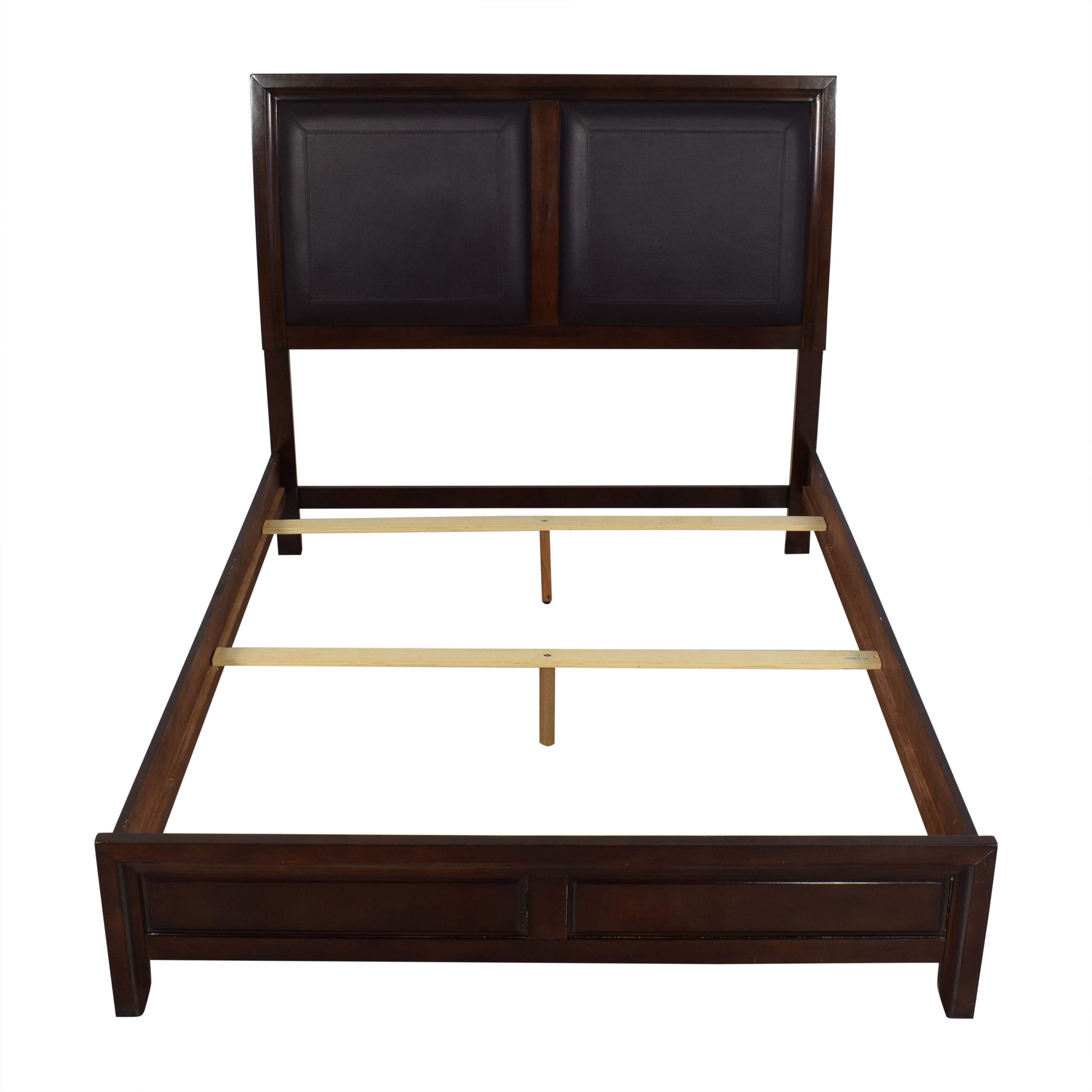 buy Raymour & Flanigan Rodea Cabernet Queen Bed Raymour & Flanigan Bed Frames