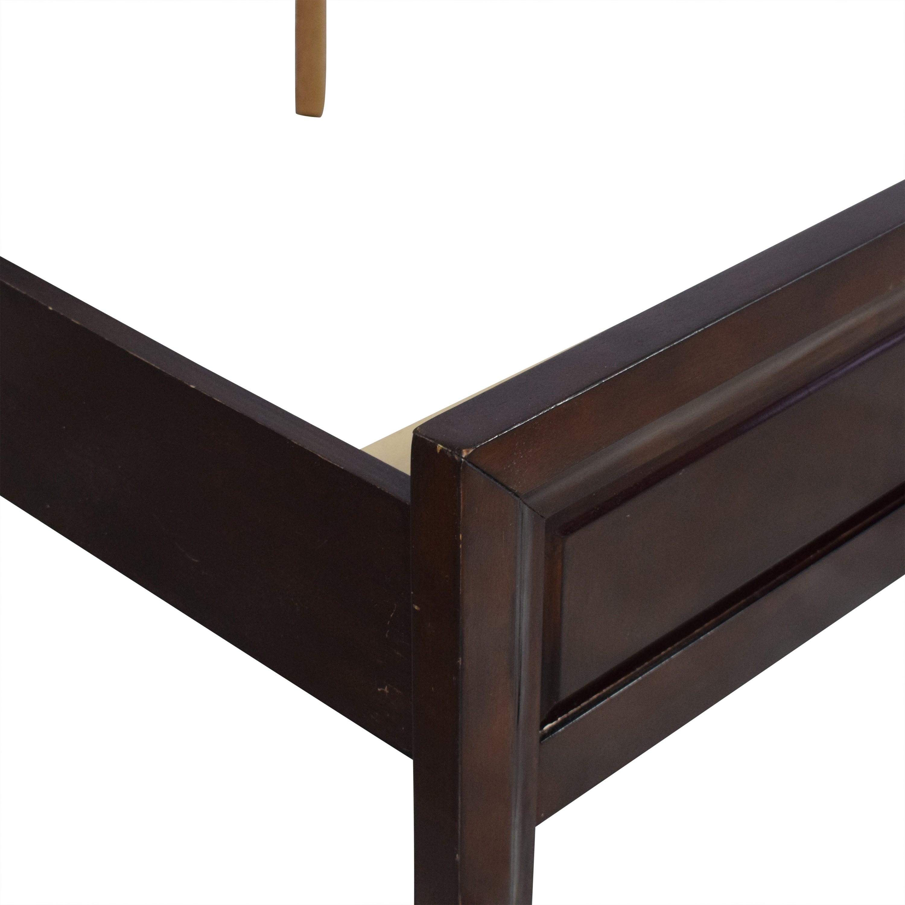 Raymour & Flanigan Raymour & Flanigan Rodea Cabernet Queen Bed ct
