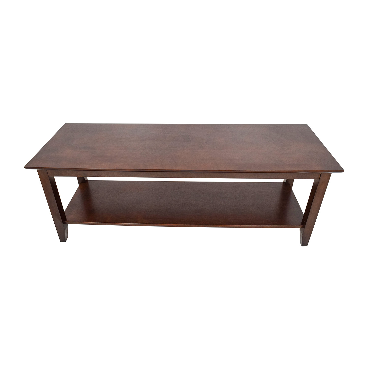 OFF Crate and Barrel Crate & Barrel Glass Coffee Table Tables