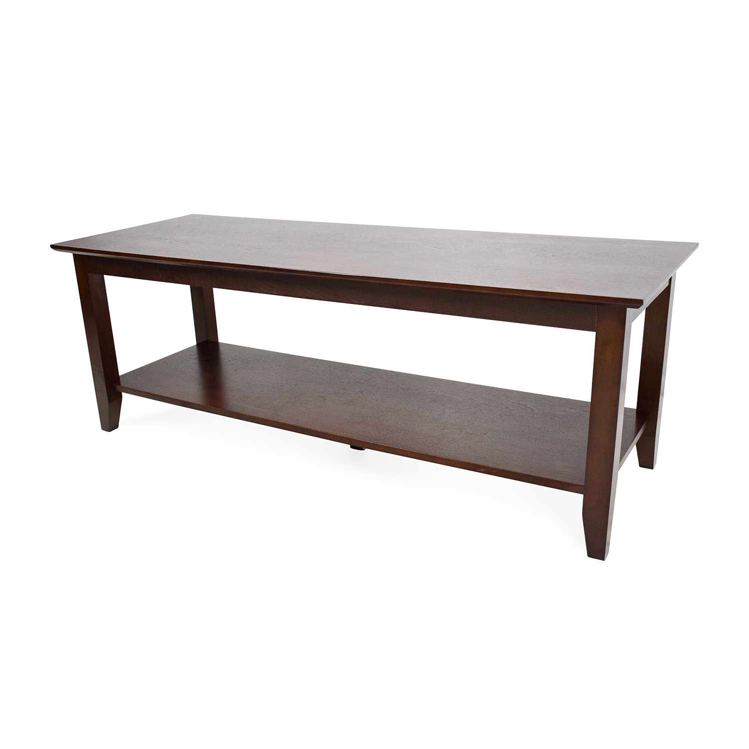59 Off Natural Wood Coffee Table Tables