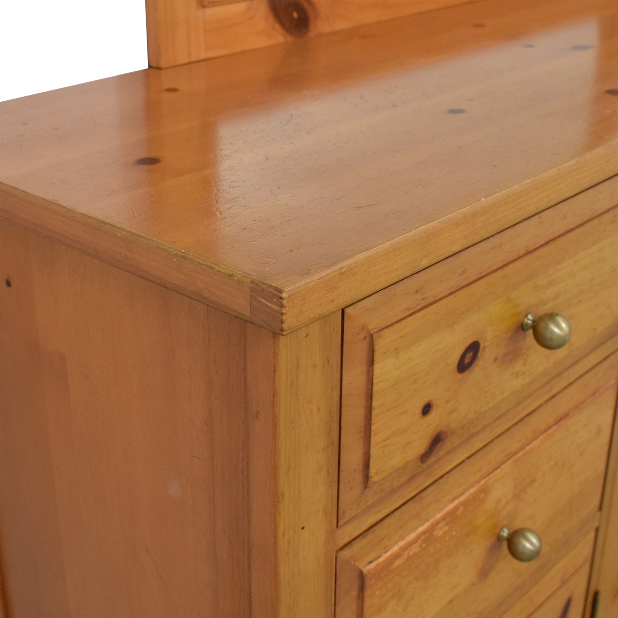 shop Broyhill Furniture Broyhill Shaker Style Dresser and Mirror online