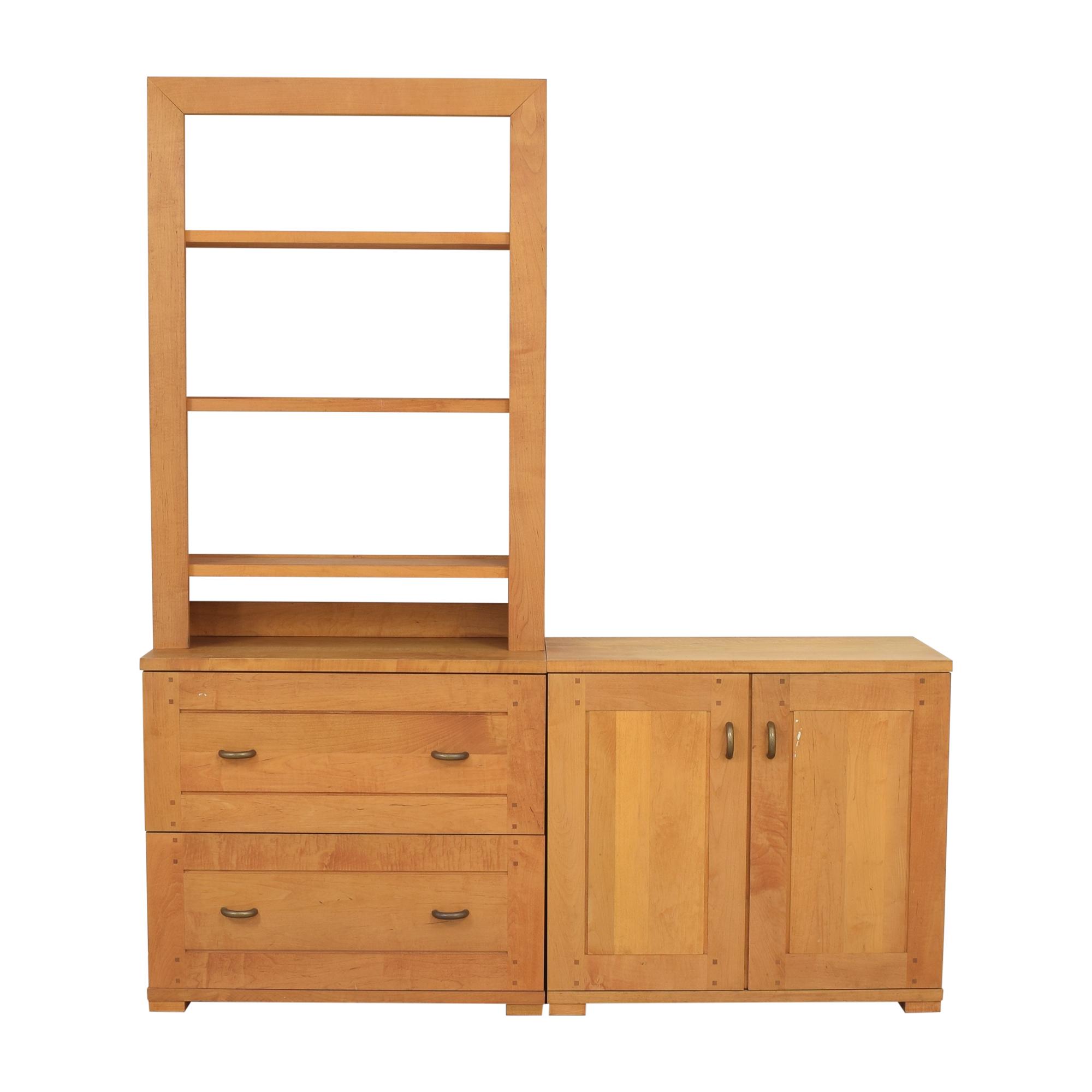buy Crate & Barrel Modular Storage Unit Crate & Barrel