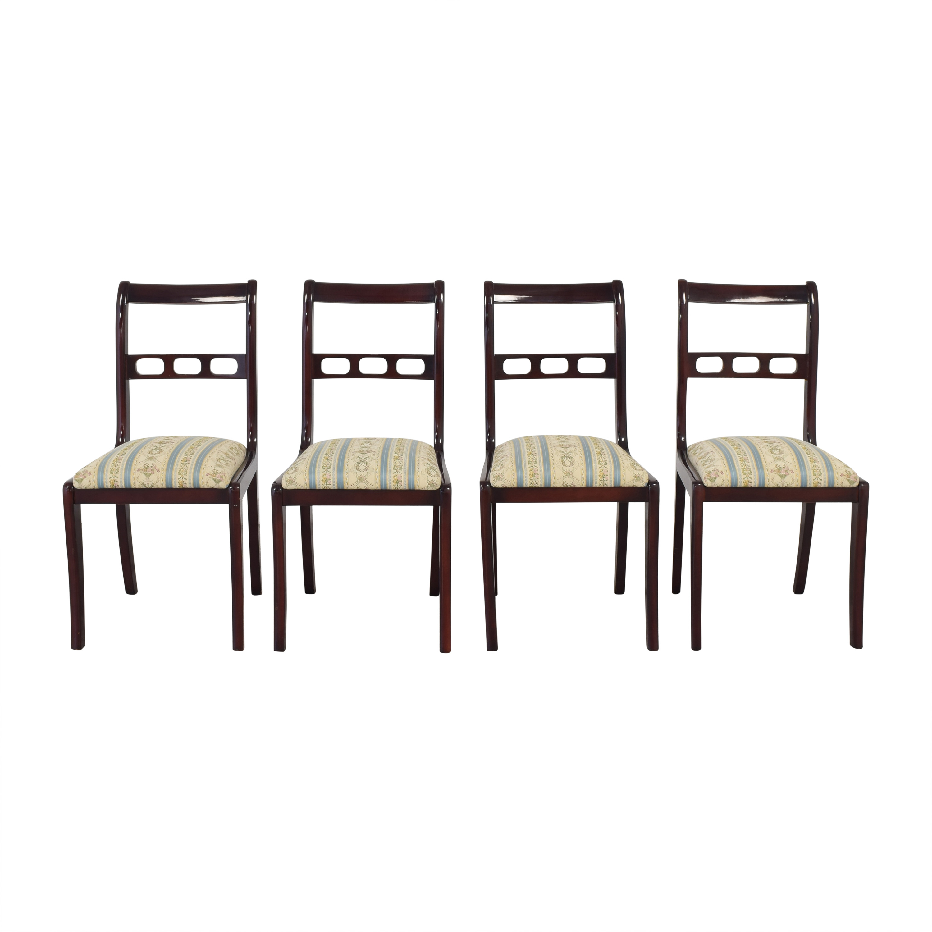 Upholstered Seat Dining Chairs price