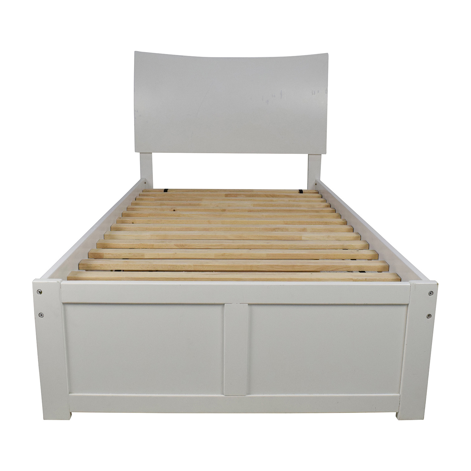 bed trundle wooden in lacquer second roll ol oak trundlebed taurus beds out